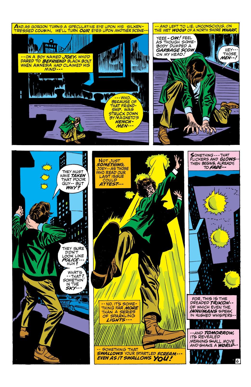Read online Marvel Masterworks: The Inhumans comic -  Issue # TPB 1 (Part 2) - 84