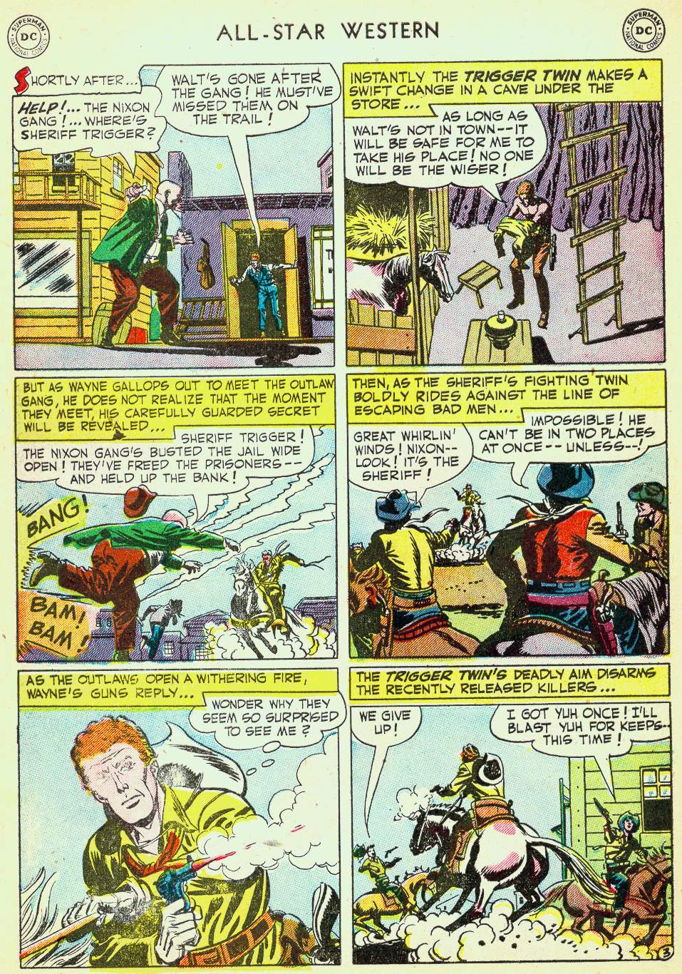 Read online All-Star Western (1951) comic -  Issue #63 - 30