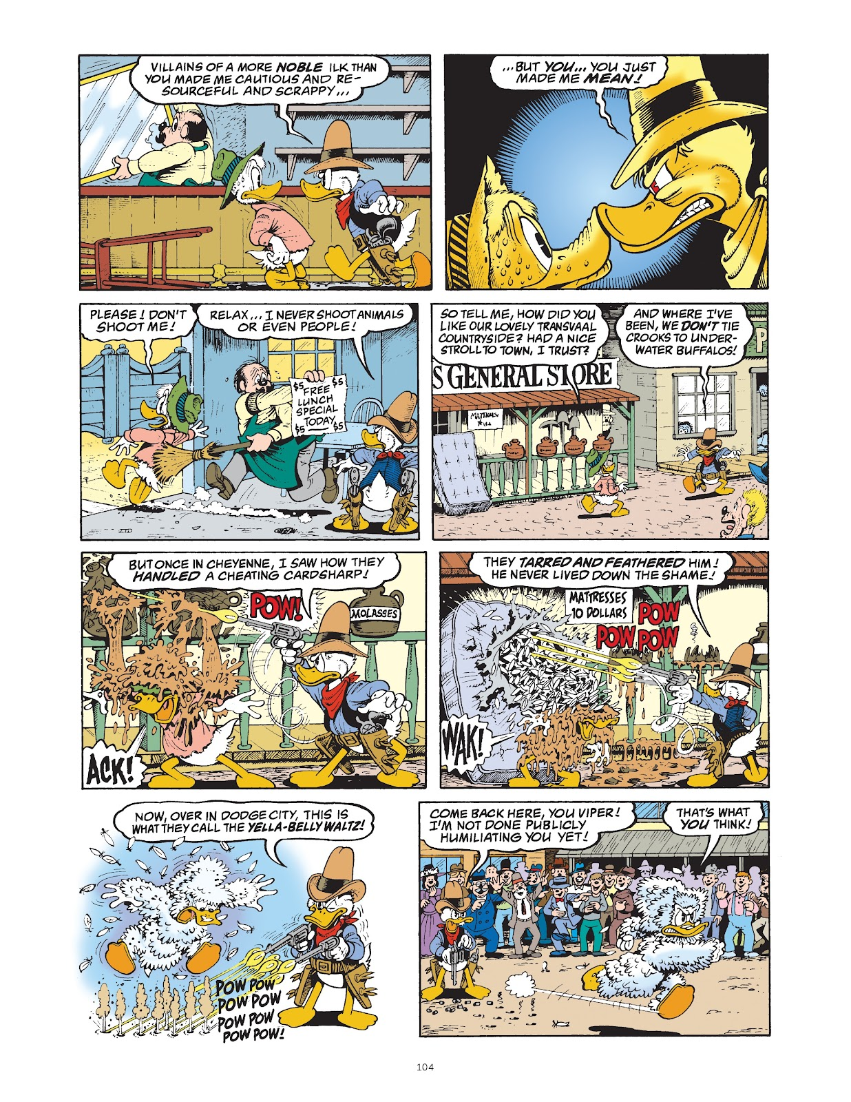 Read online The Complete Life and Times of Scrooge McDuck comic -  Issue # TPB 1 (Part 2) - 6
