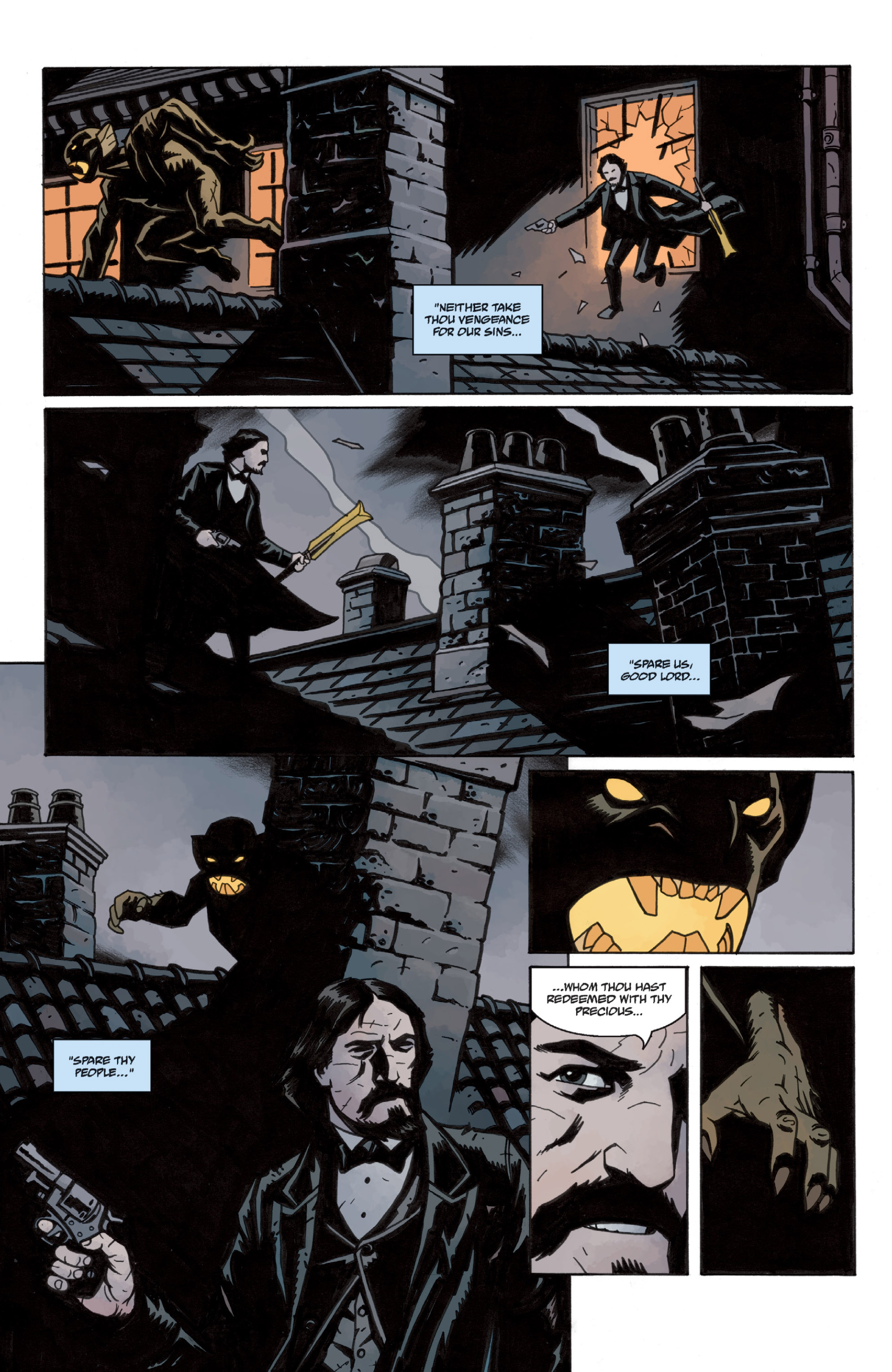 Read online Sir Edward Grey, Witchfinder: In the Service of Angels comic -  Issue # TPB - 21