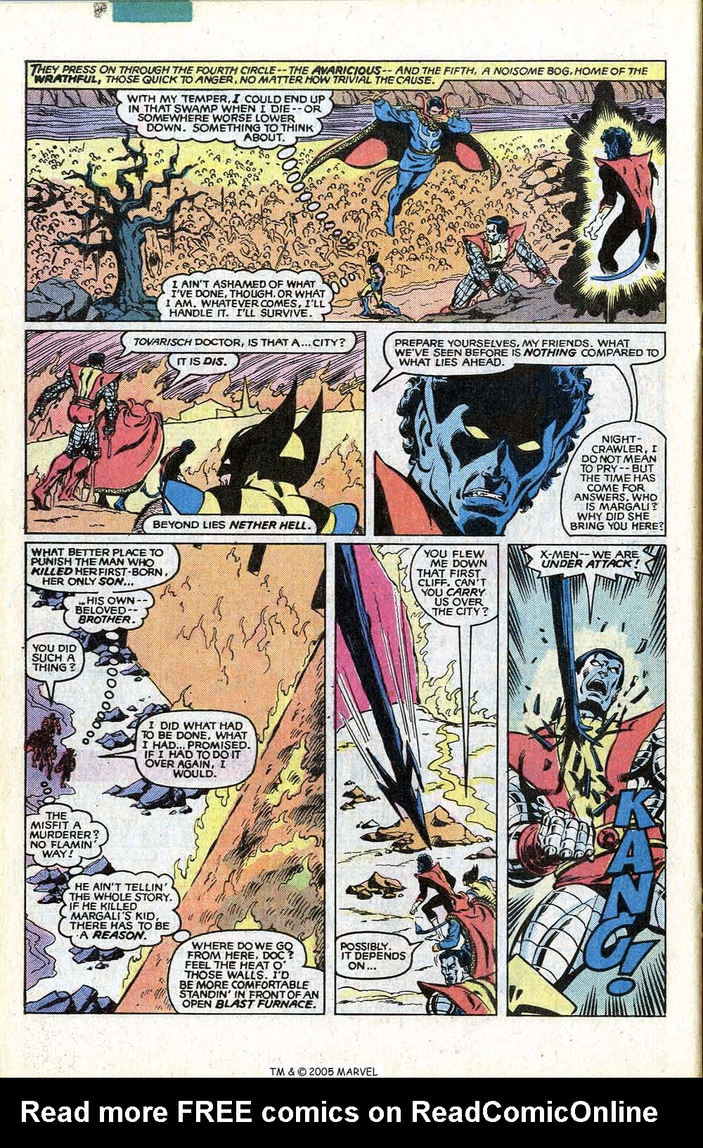 Read online Uncanny X-Men (1963) comic -  Issue # _Annual 4 - 32