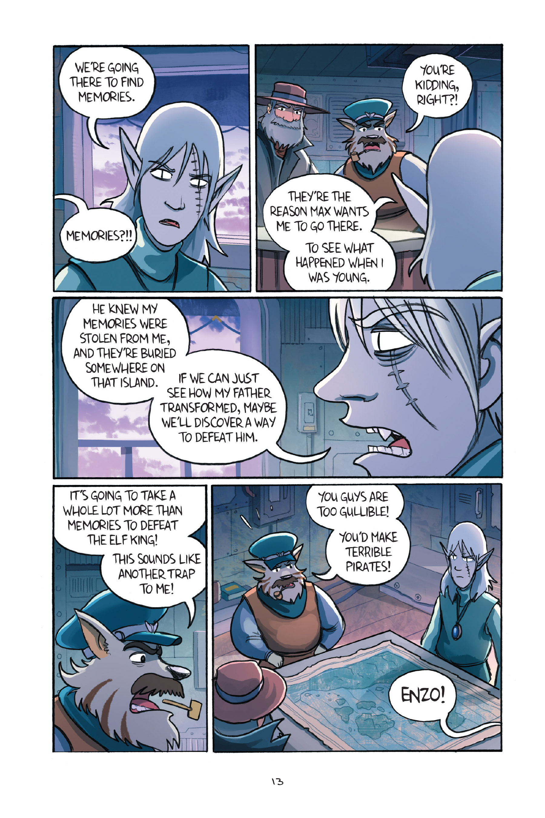 Read online Amulet comic -  Issue #7 - 16