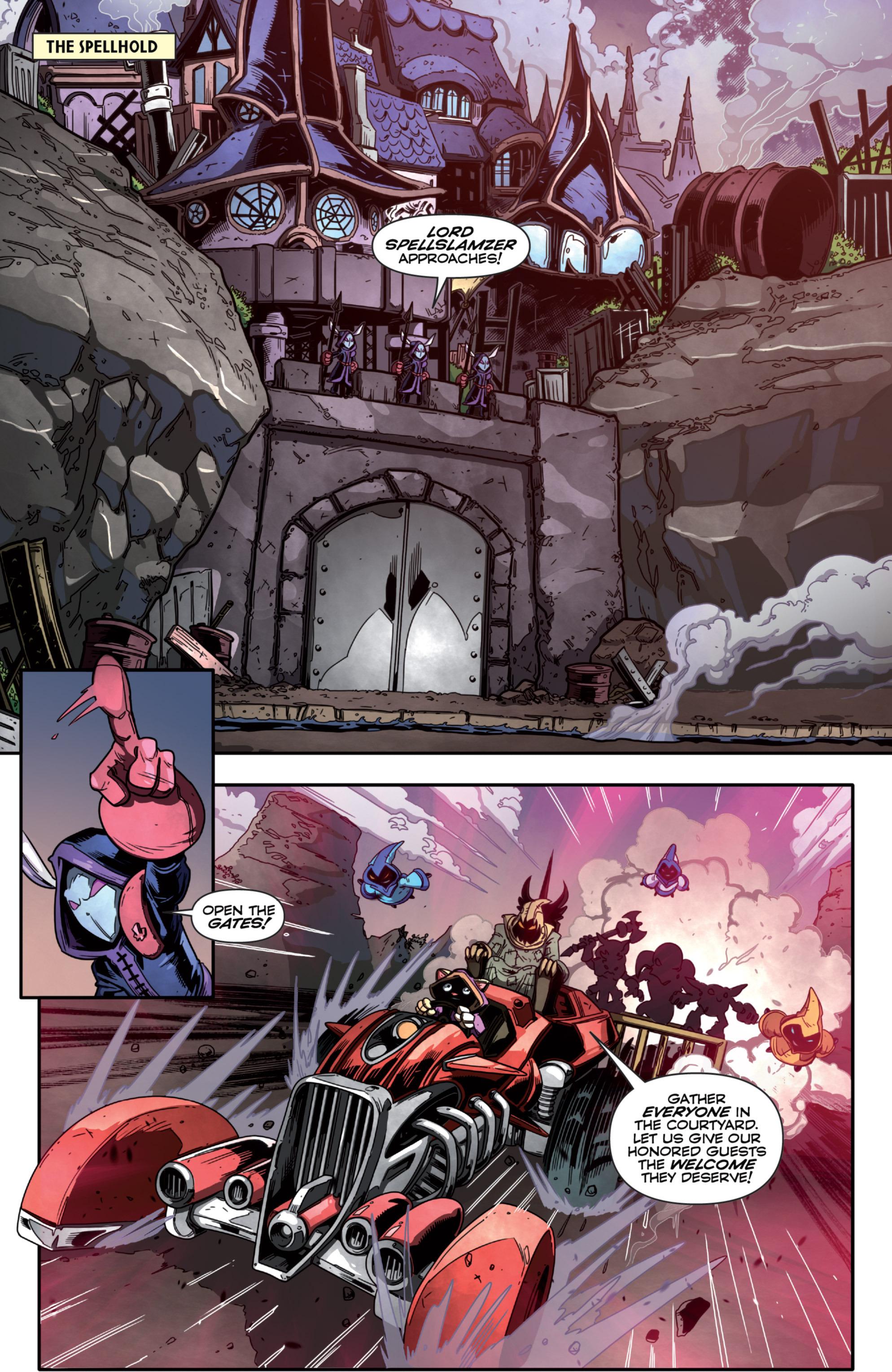 Read online Skylanders Superchargers comic -  Issue #2 - 3
