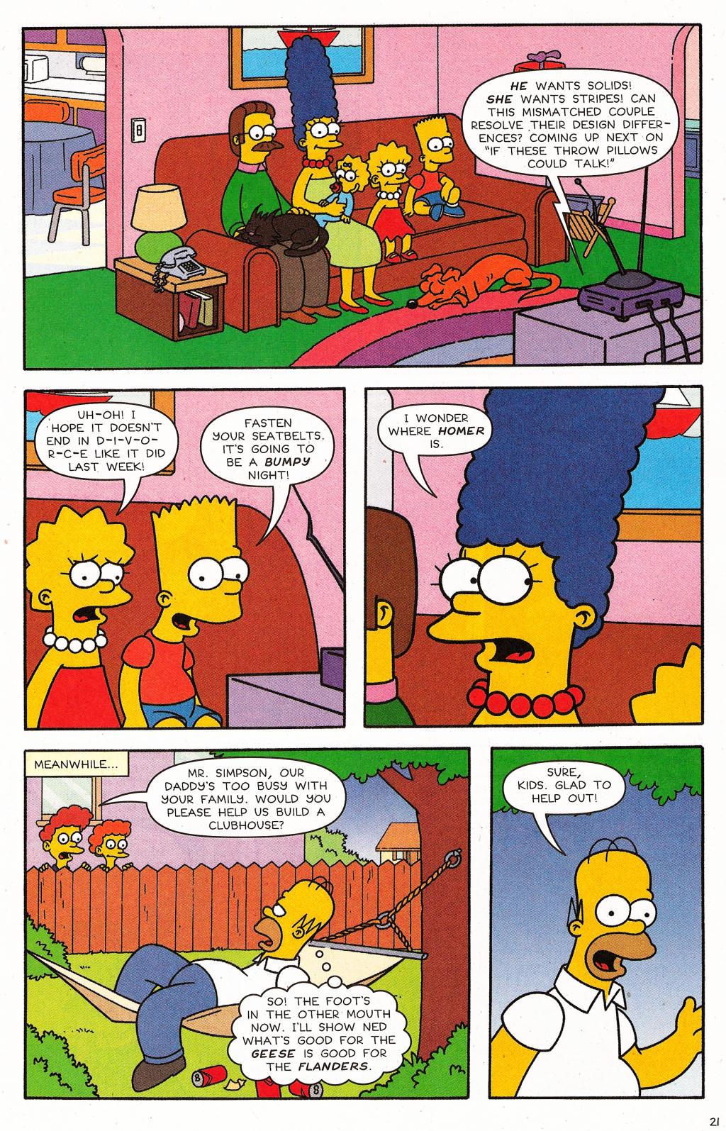 Read online Simpsons Comics comic -  Issue #124 - 17