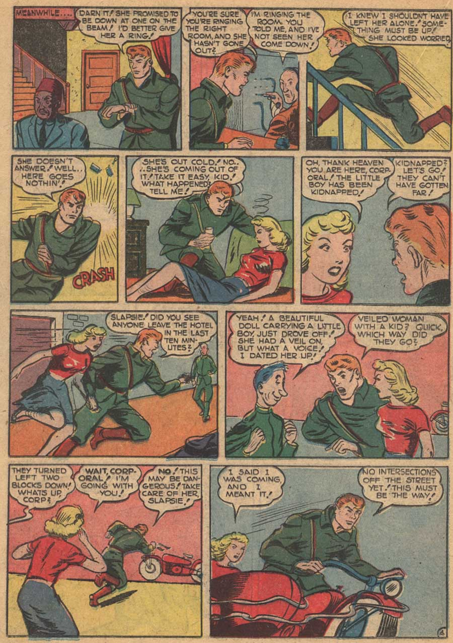 Blue Ribbon Comics (1939) issue 16 - Page 34