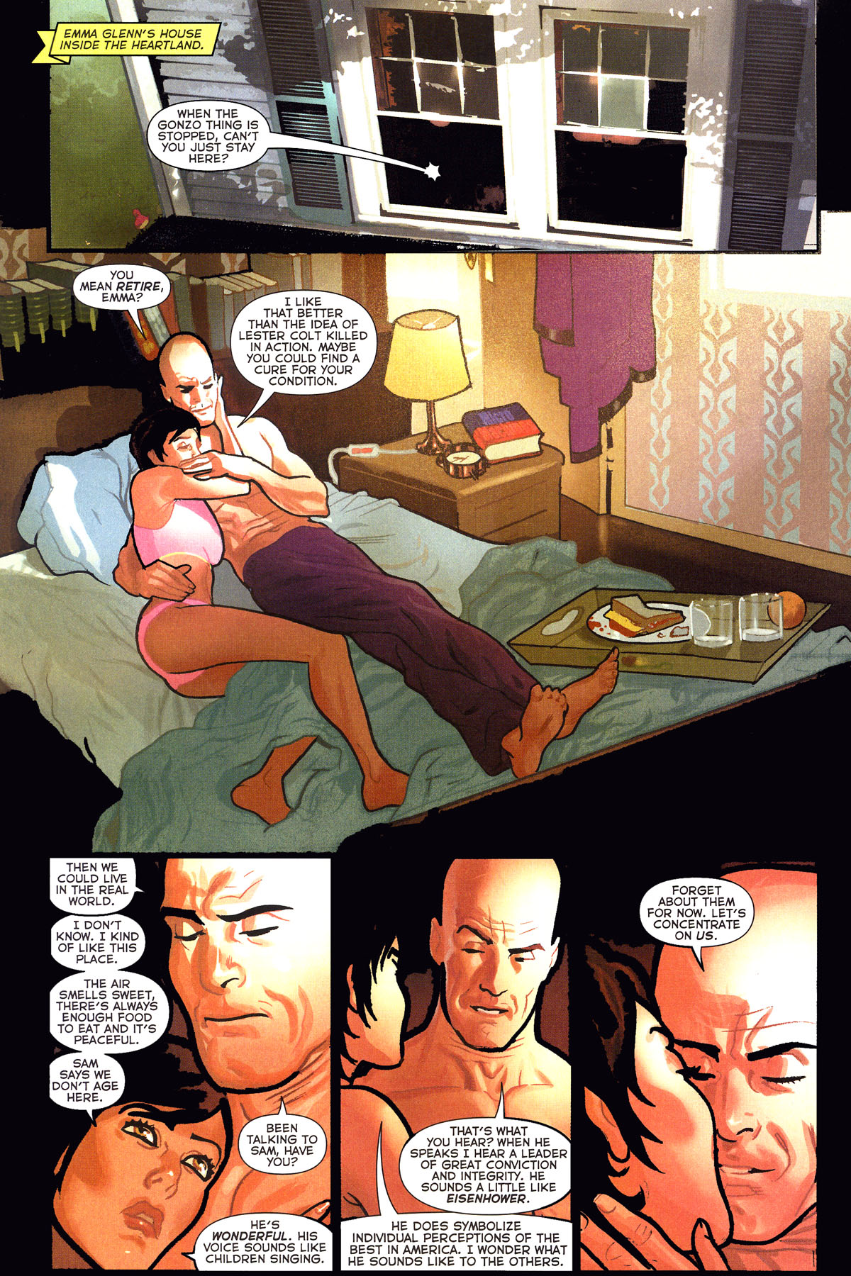 Read online Uncle Sam and the Freedom Fighters (2006) comic -  Issue #6 - 20