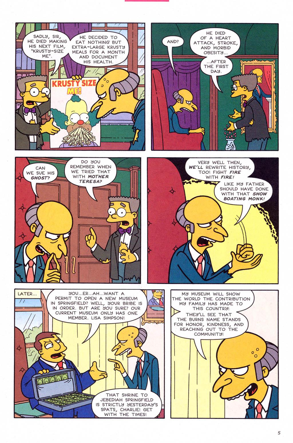 Read online Simpsons Comics comic -  Issue #109 - 6