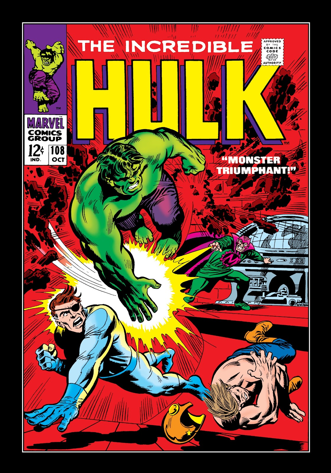 Read online Marvel Masterworks: The Incredible Hulk comic -  Issue # TPB 4 (Part 2) - 12