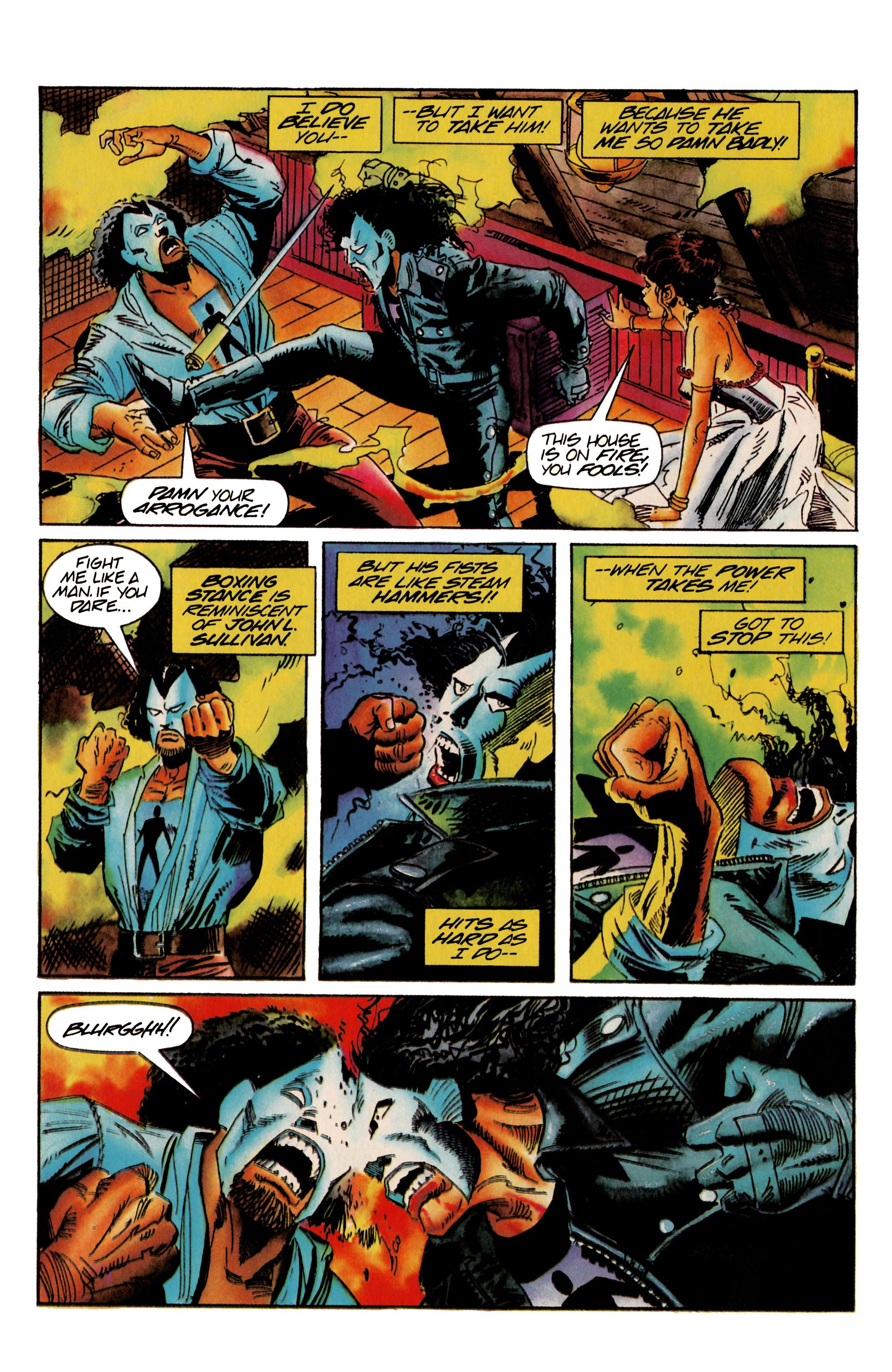Read online Shadowman (1992) comic -  Issue #22 - 5