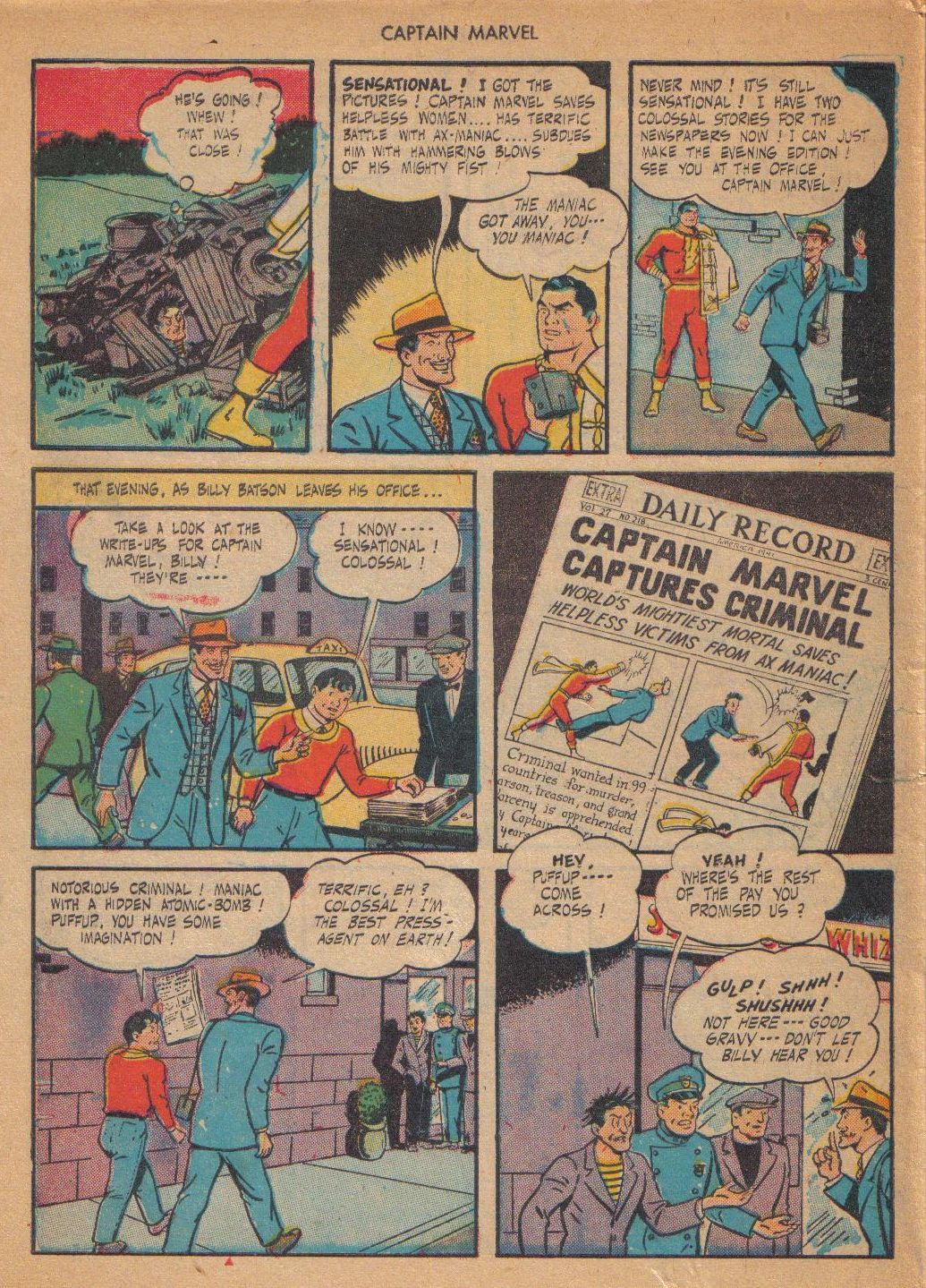Captain Marvel Adventures issue 64 - Page 46
