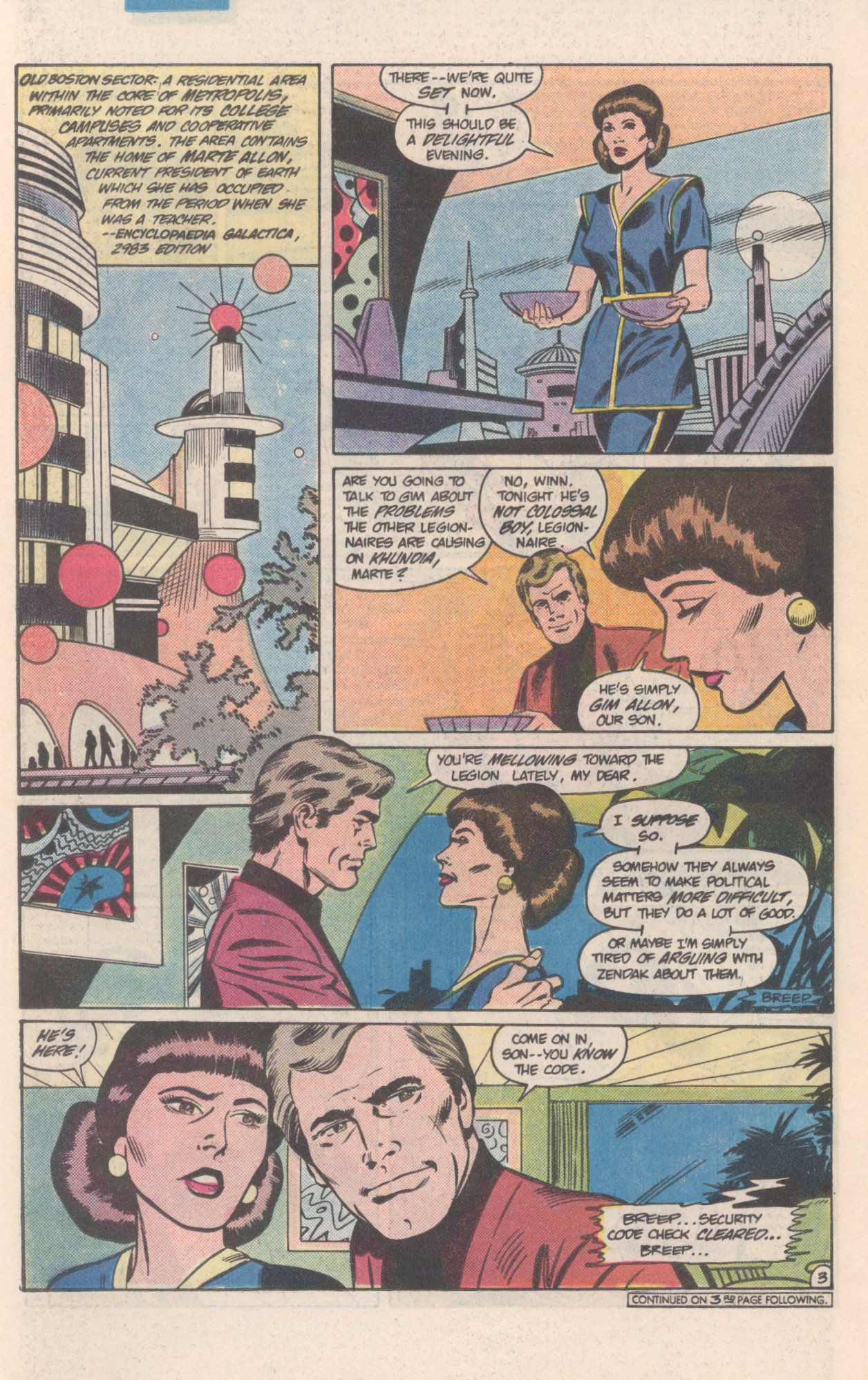Legion of Super-Heroes (1980) 308 Page 17