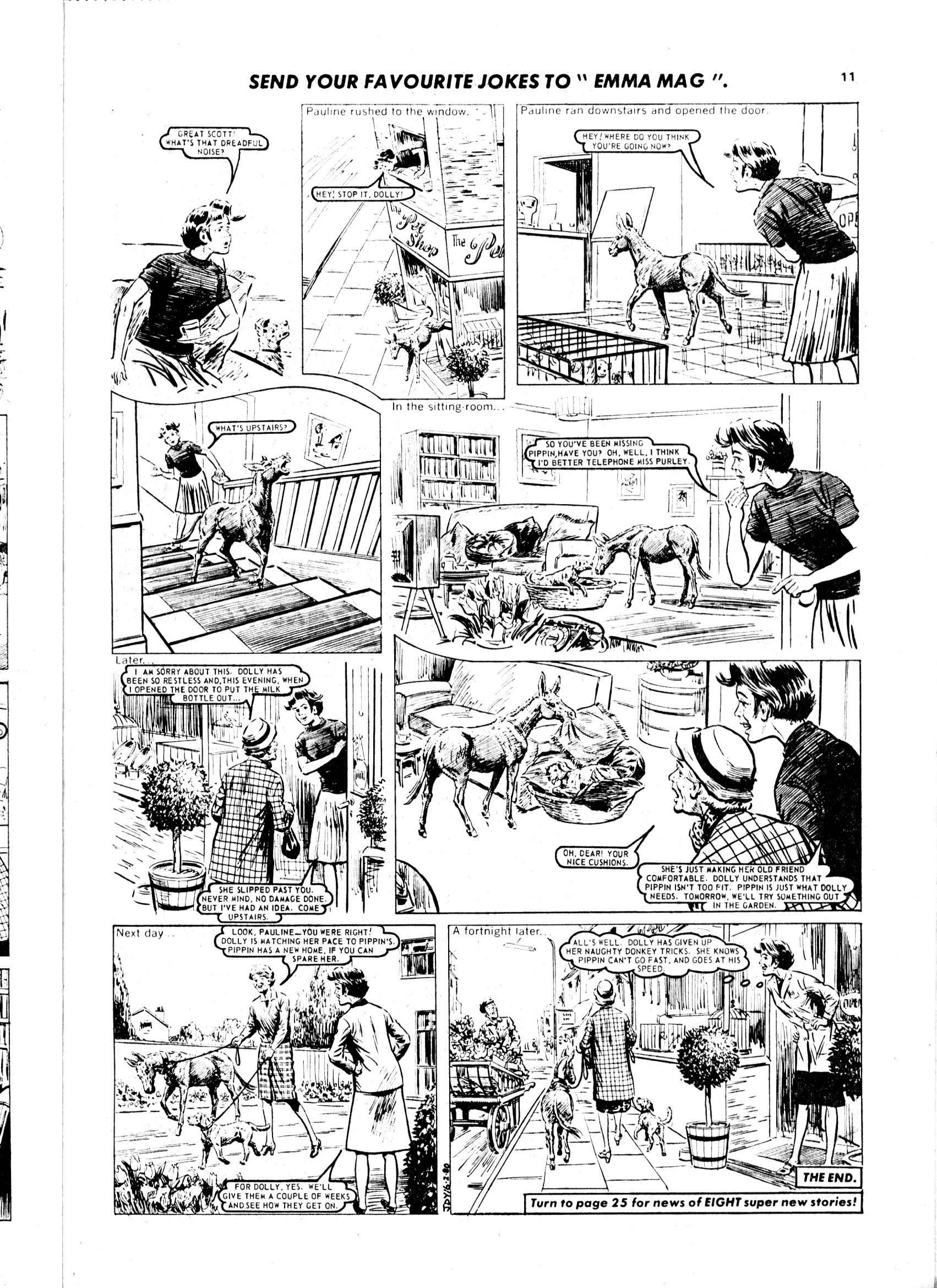 Read online Judy comic -  Issue #1049 - 11