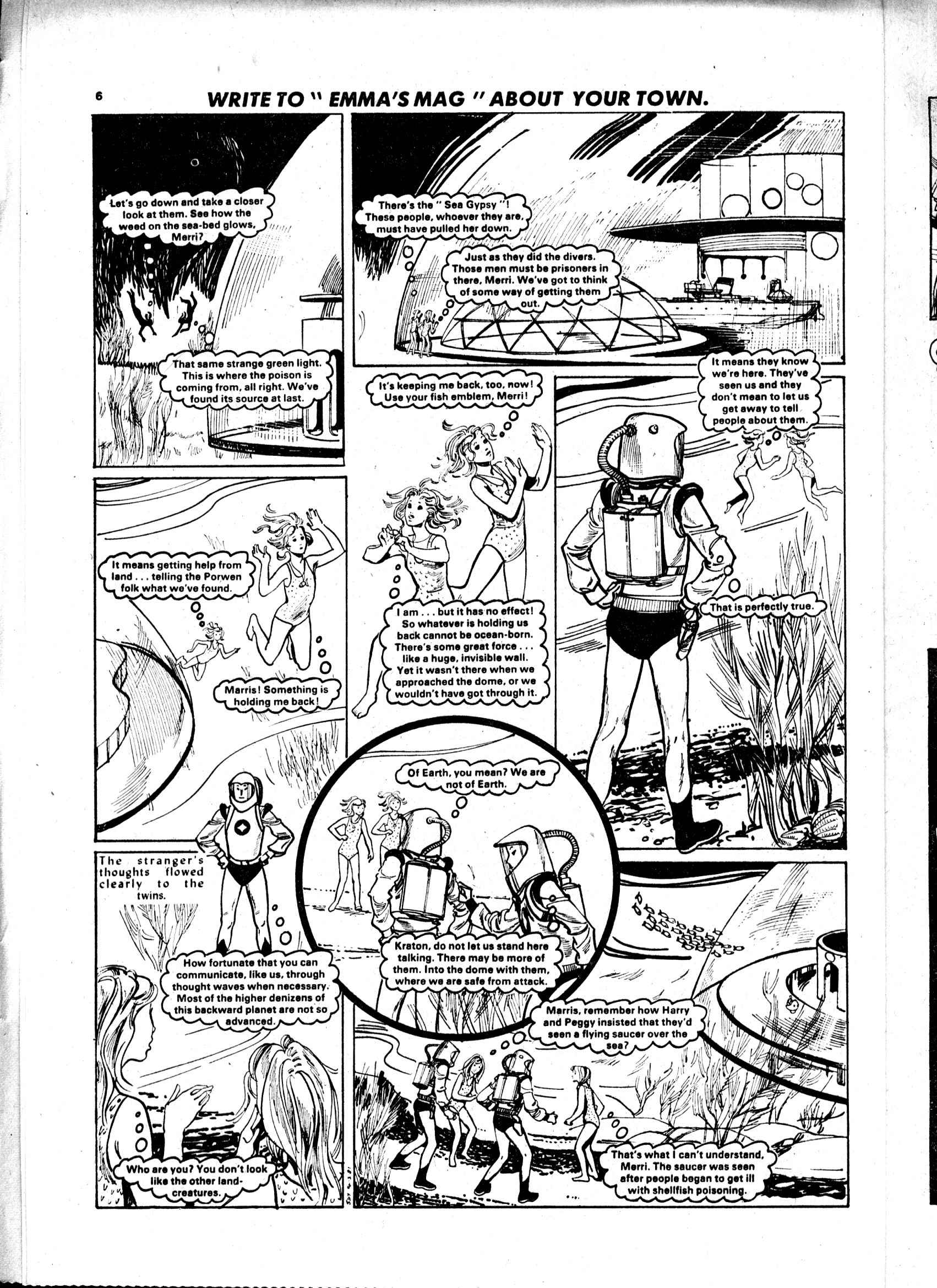 Read online Judy comic -  Issue #1105 - 6