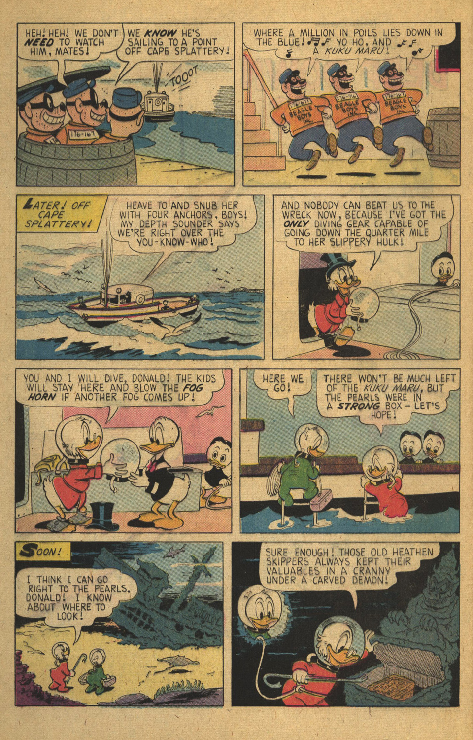Read online Uncle Scrooge (1953) comic -  Issue #136 - 4