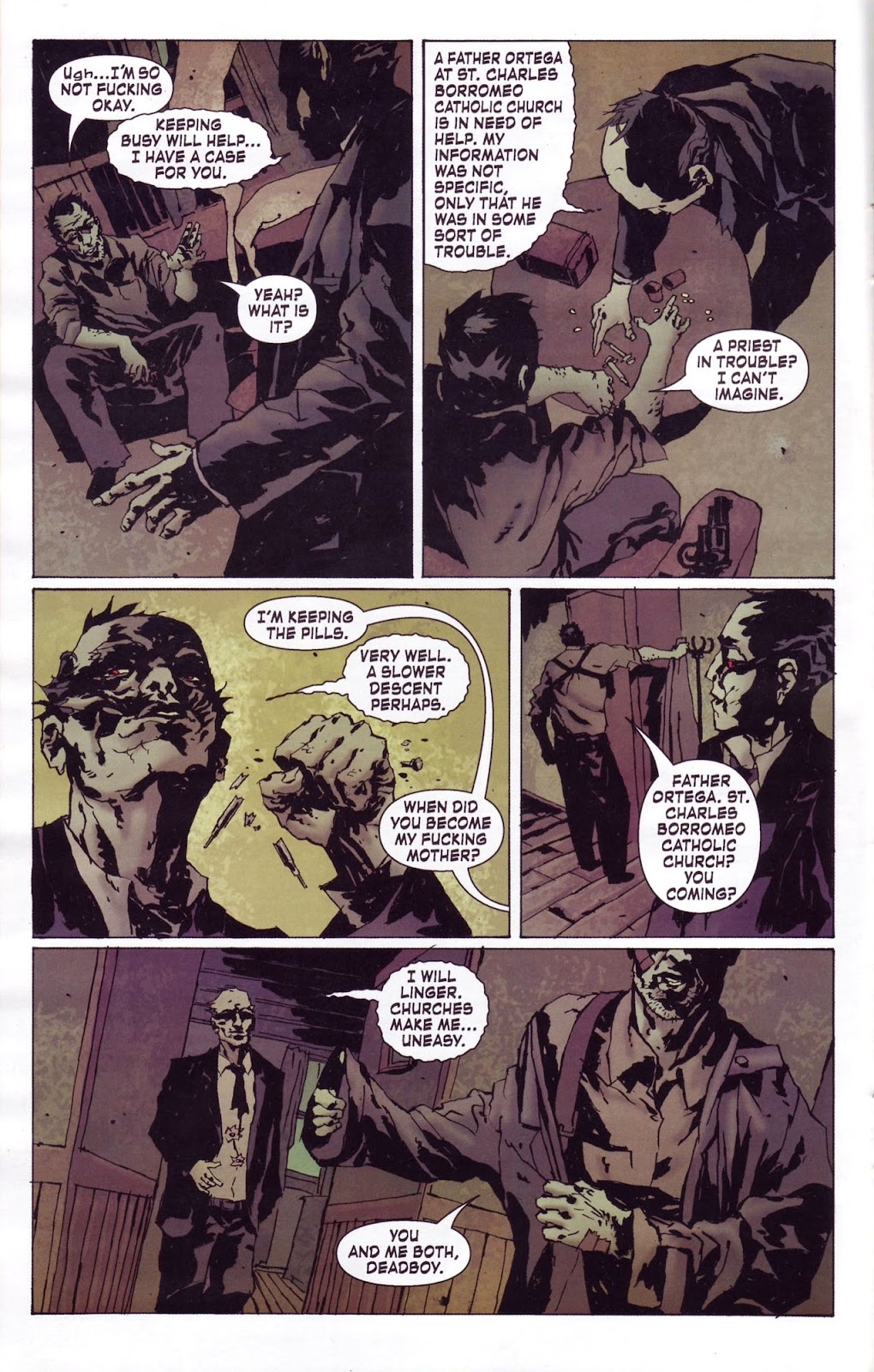 Criminal Macabre: My Demon Baby issue 1 - Page 12