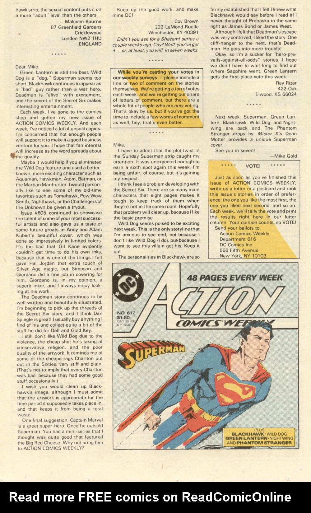 Read online Action Comics (1938) comic -  Issue #616 - 25