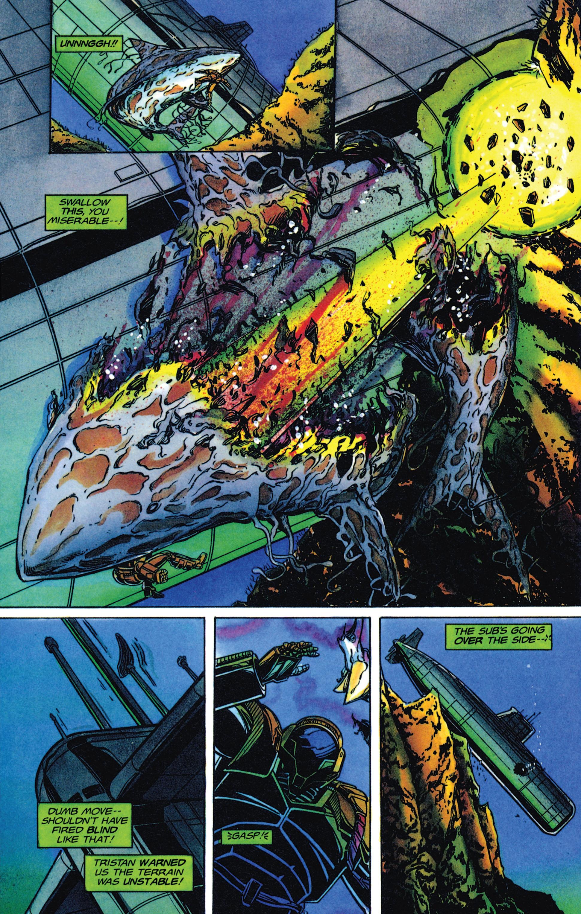 Read online Armorines comic -  Issue #2 - 19