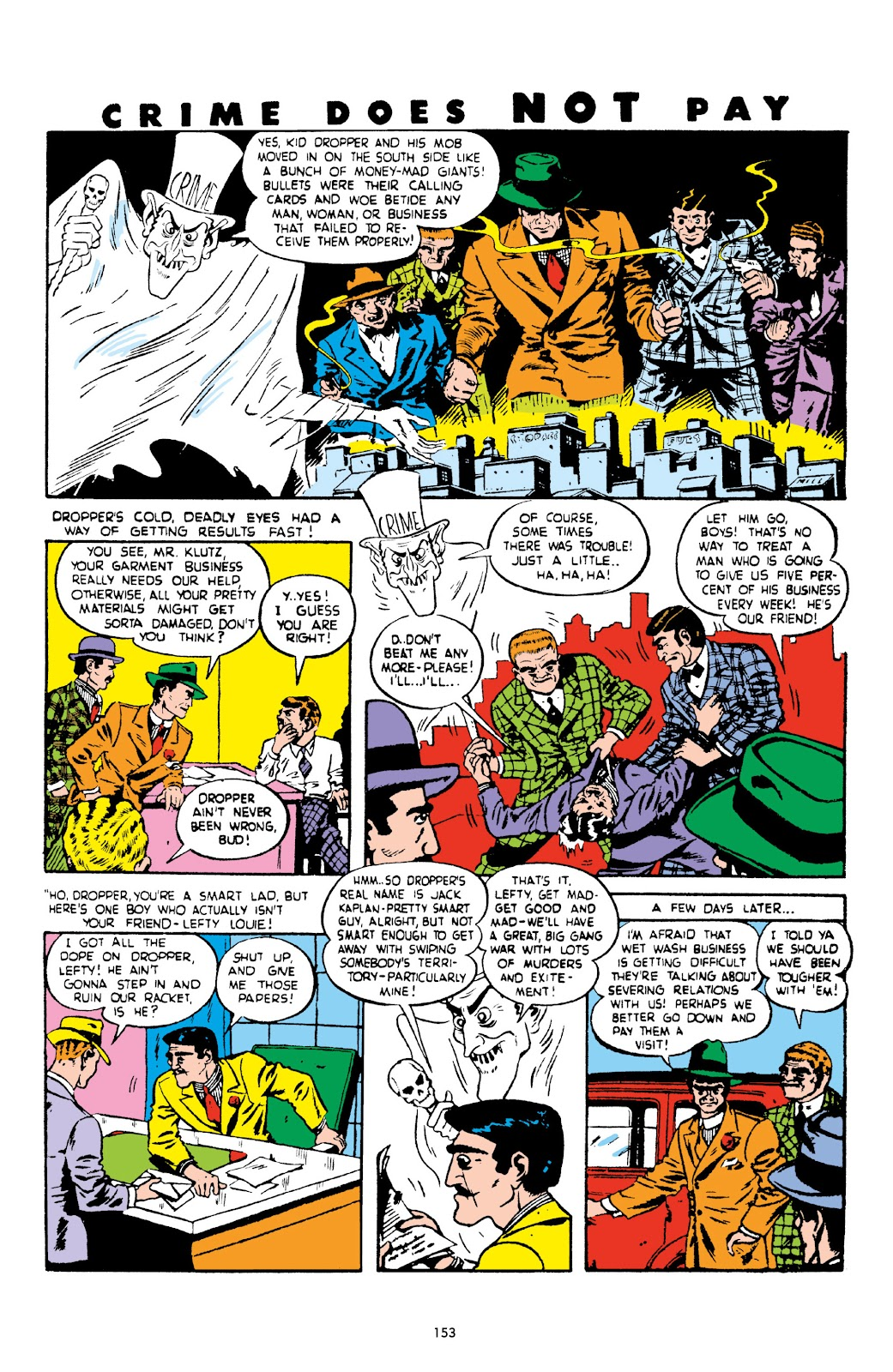 Read online Crime Does Not Pay Archives comic -  Issue # TPB 2 (Part 2) - 53