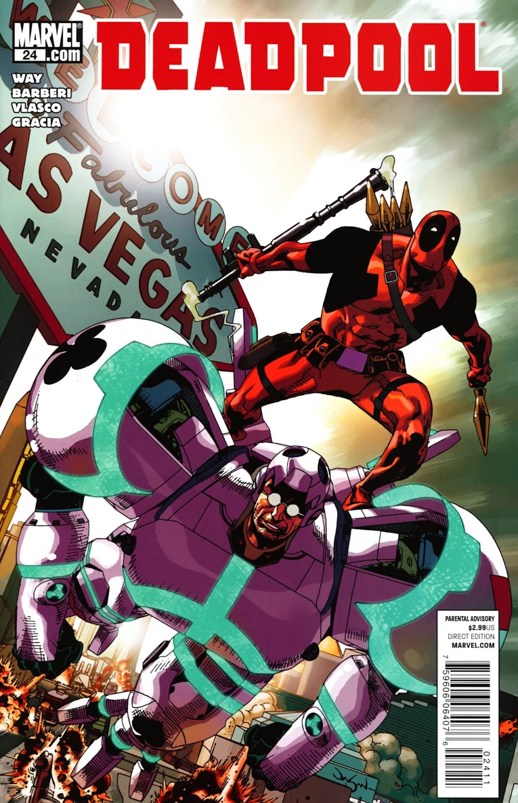 Read online Deadpool (2008) comic -  Issue #24 - 1