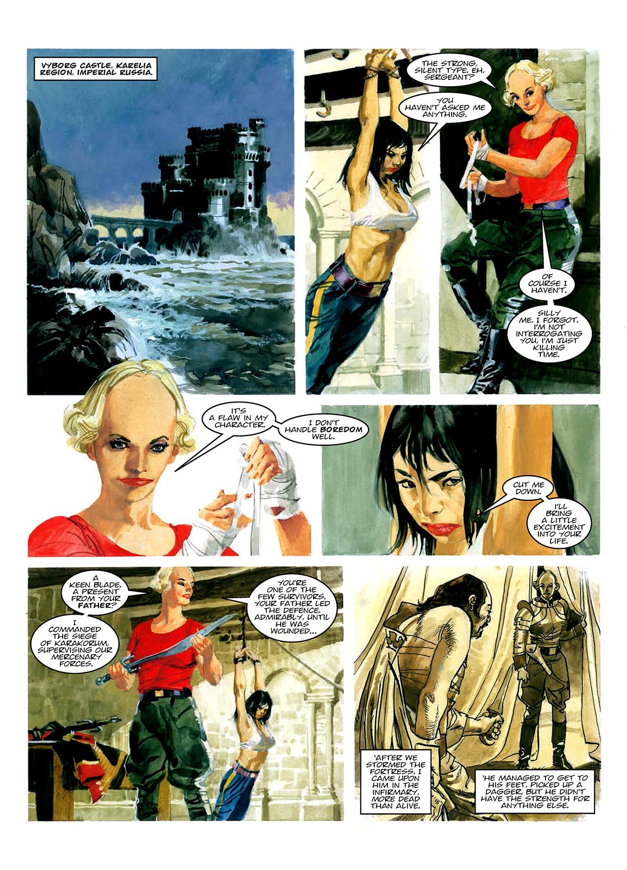 Read online Nikolai Dante comic -  Issue # TPB 10 - 50