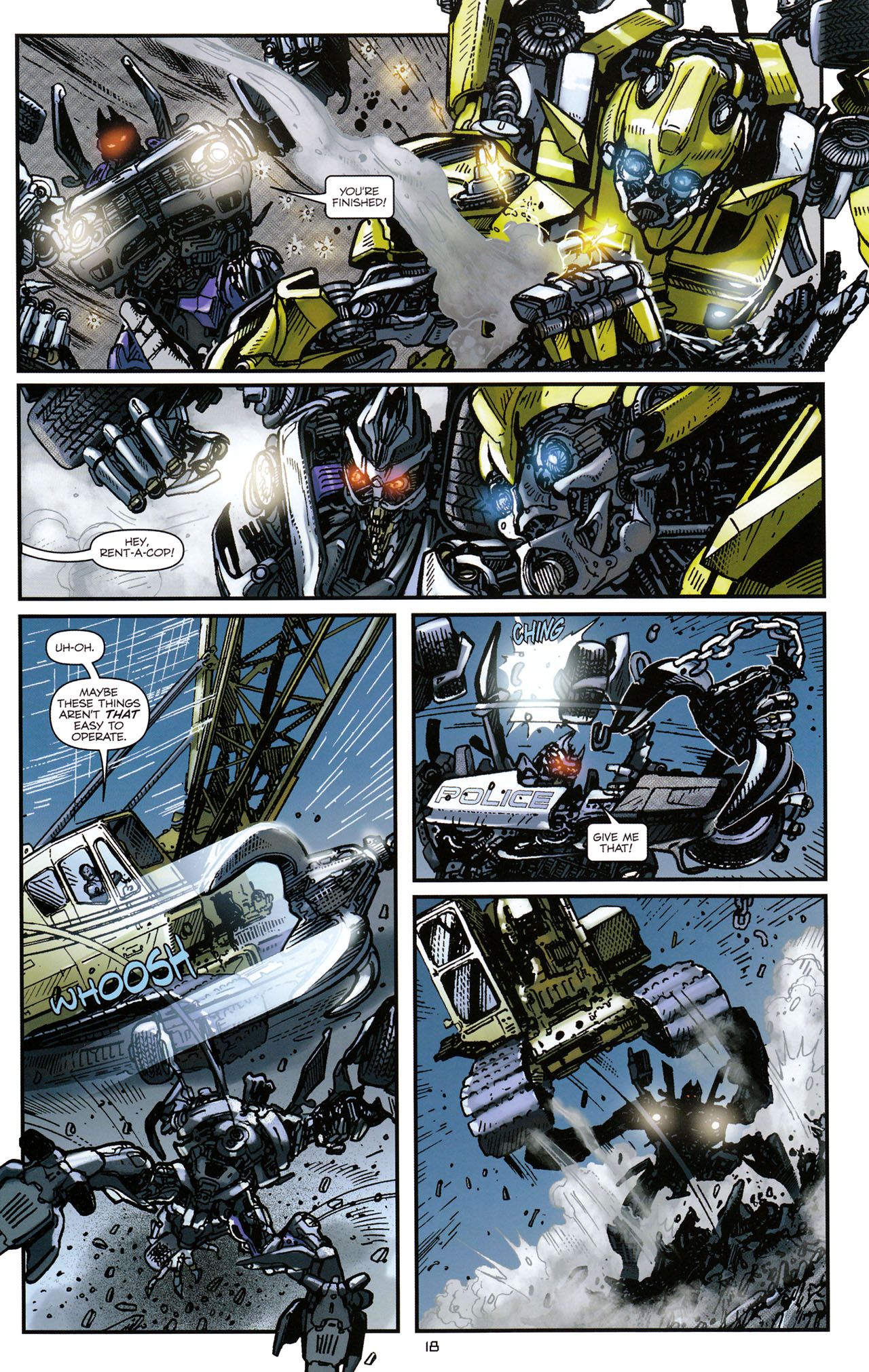 Read online Transformers: Tales of The Fallen comic -  Issue #1 - 20