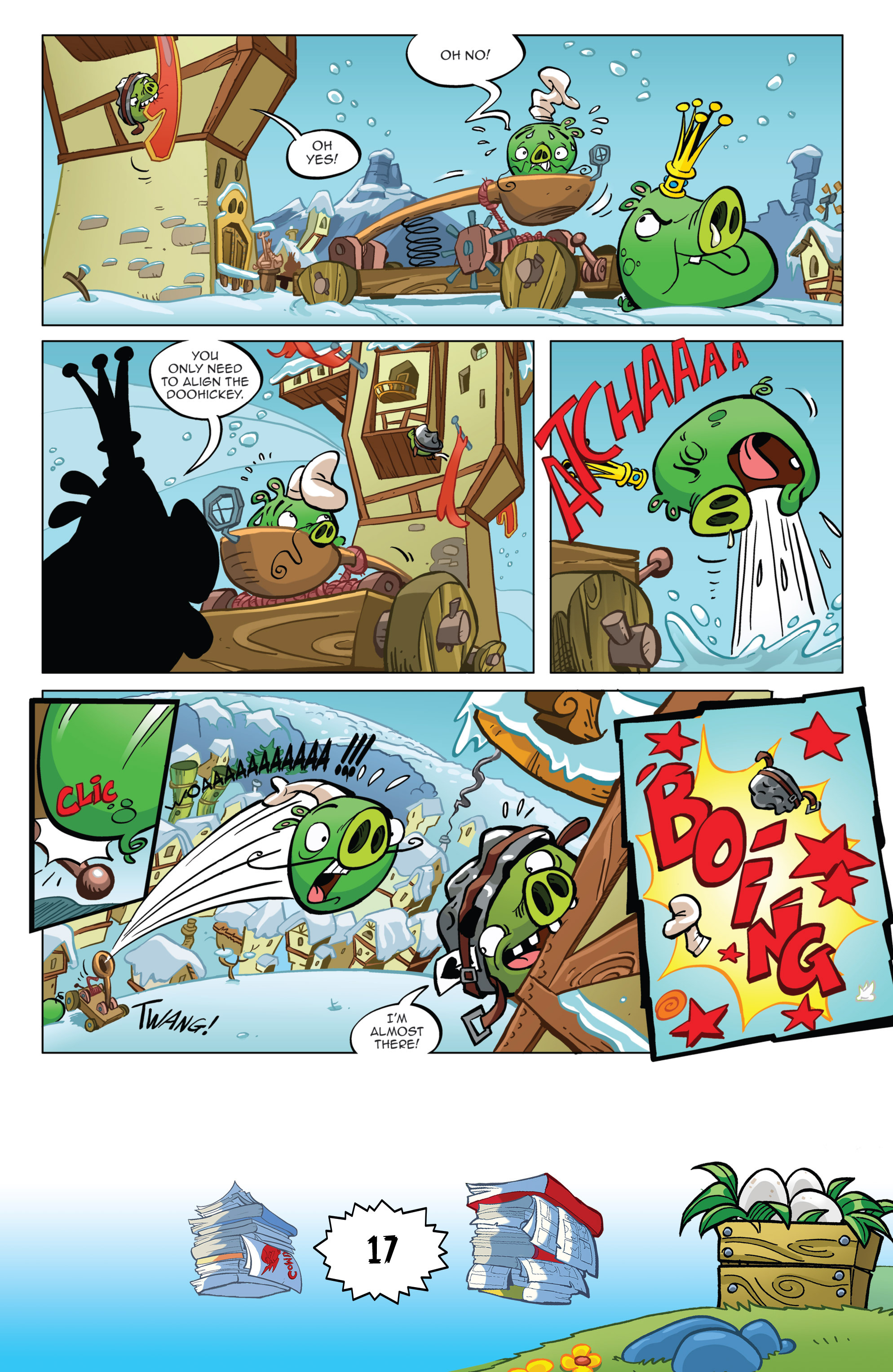 Read online Angry Birds Comics (2016) comic -  Issue #6 - 19