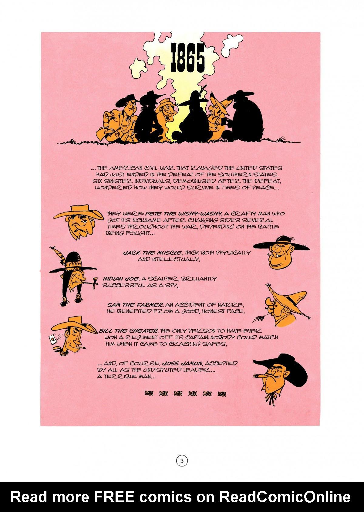 Read online A Lucky Luke Adventure comic -  Issue #27 - 4
