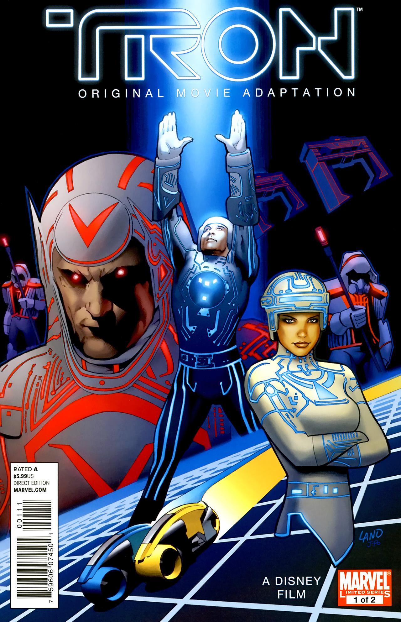 Read online TRON: Original Movie Adaptation comic -  Issue #1 - 1