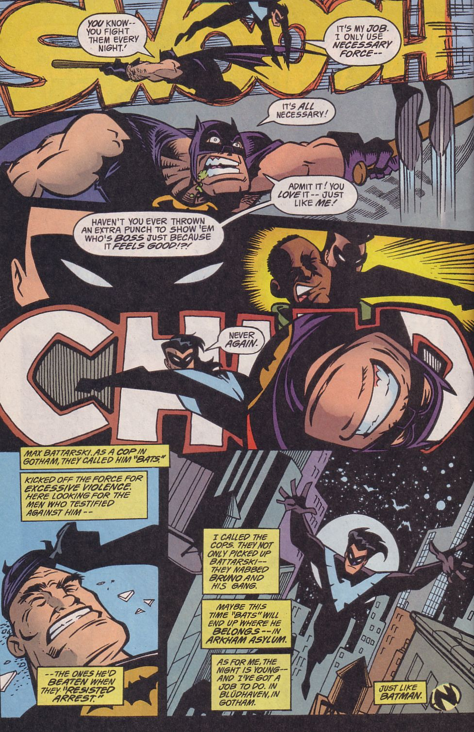 Read online Adventures in the DC Universe comic -  Issue #14 - 23