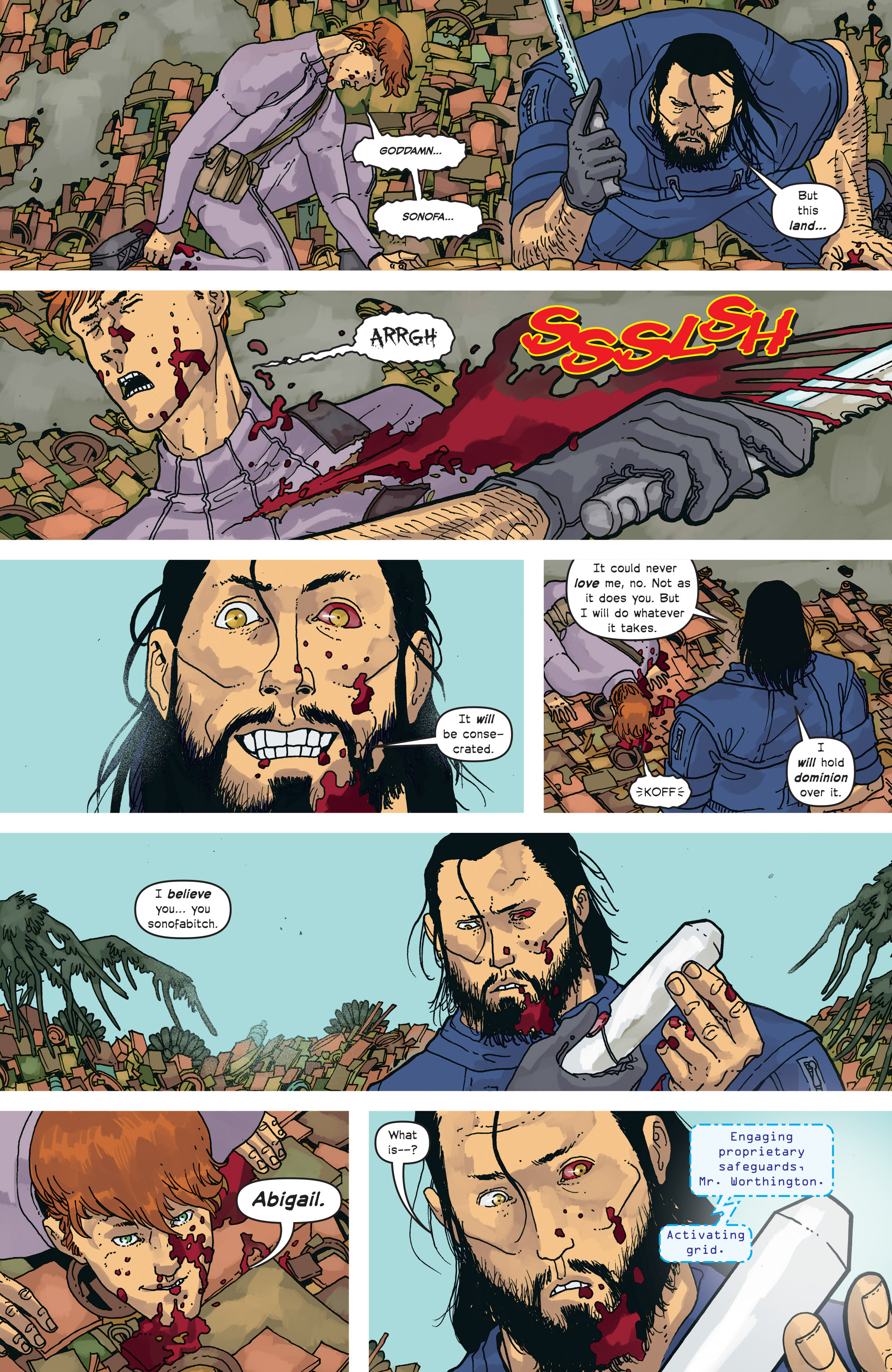Read online Great Pacific comic -  Issue #18 - 18