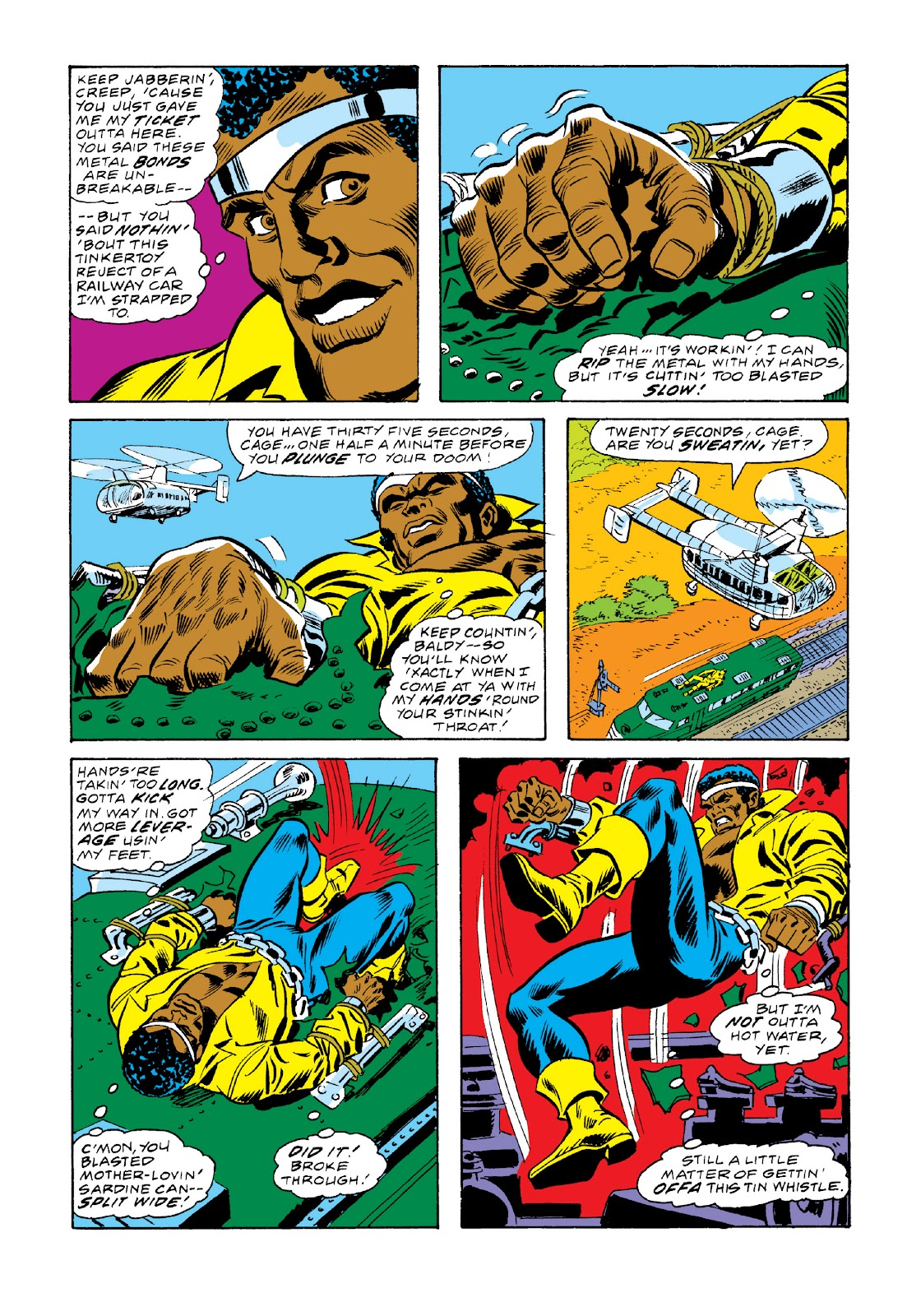 Read online Marvel Masterworks: Luke Cage, Power Man comic -  Issue # TPB 3 (Part 2) - 85