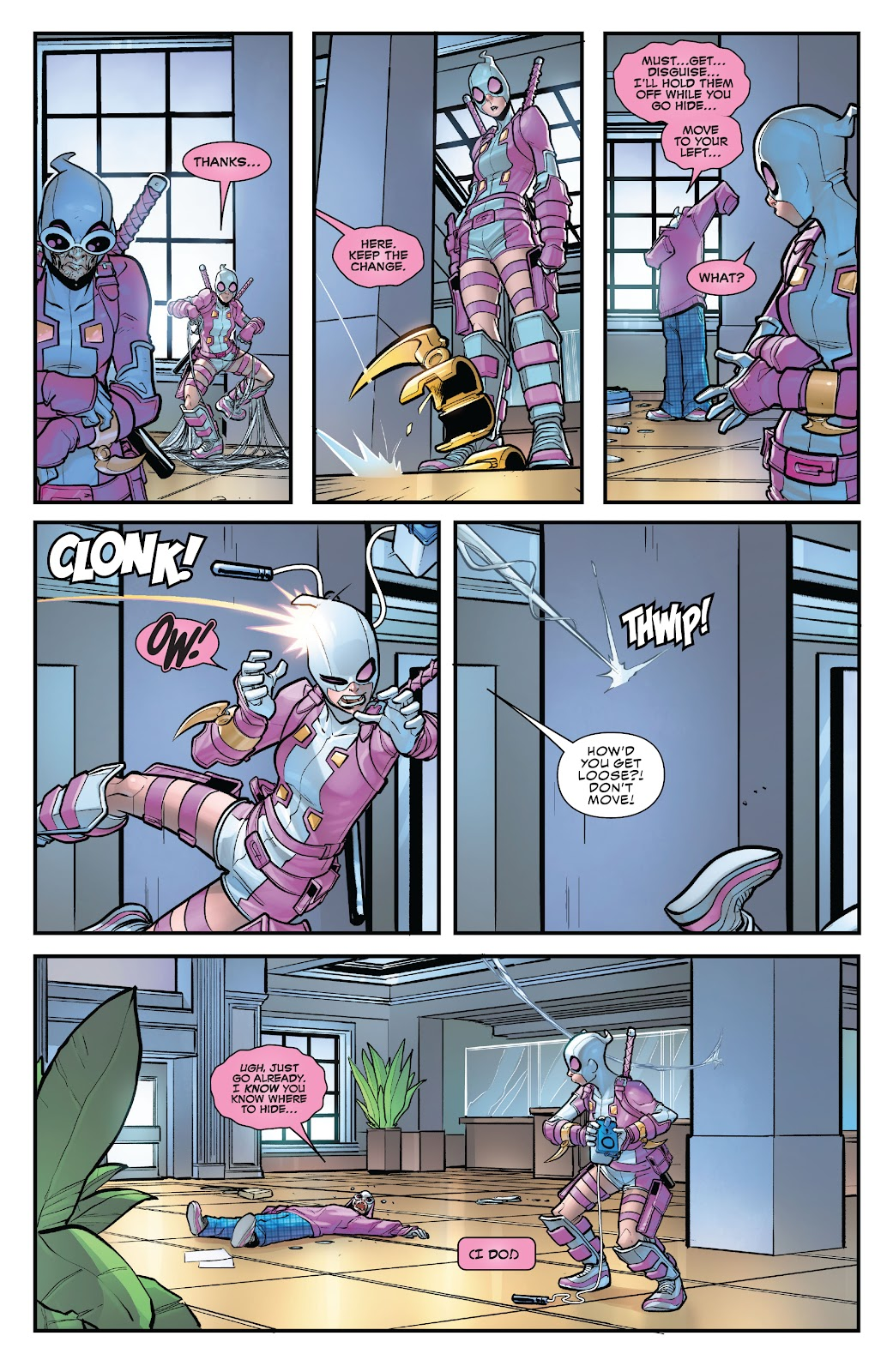 Gwenpool Strikes Back issue _TPB - Page 19