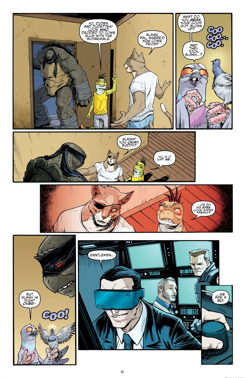 Read online Teenage Mutant Ninja Turtles: The IDW Collection comic -  Issue # TPB 9 (Part 1) - 22