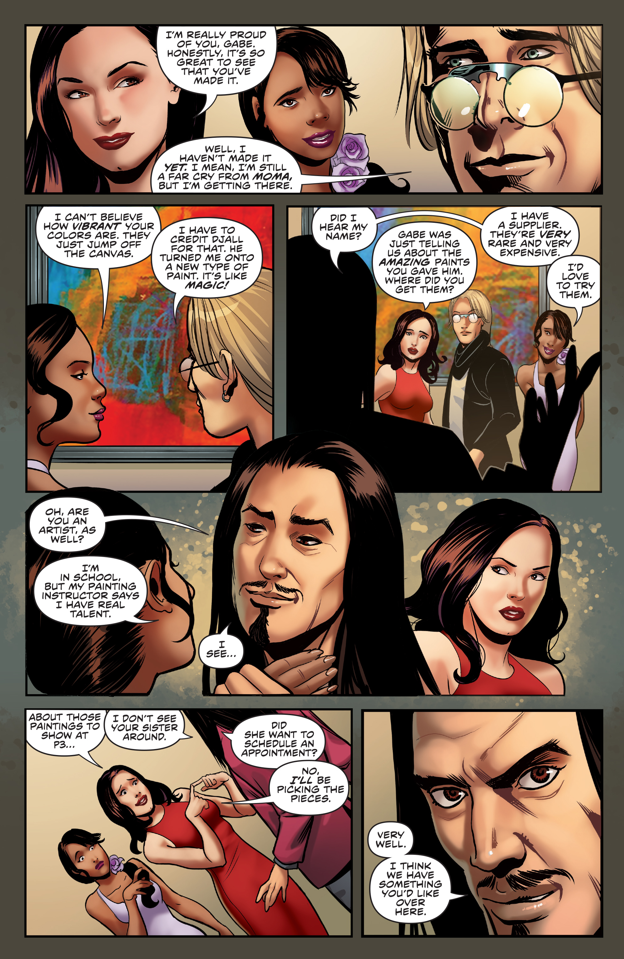 Read online Charmed (2017) comic -  Issue #3 - 9