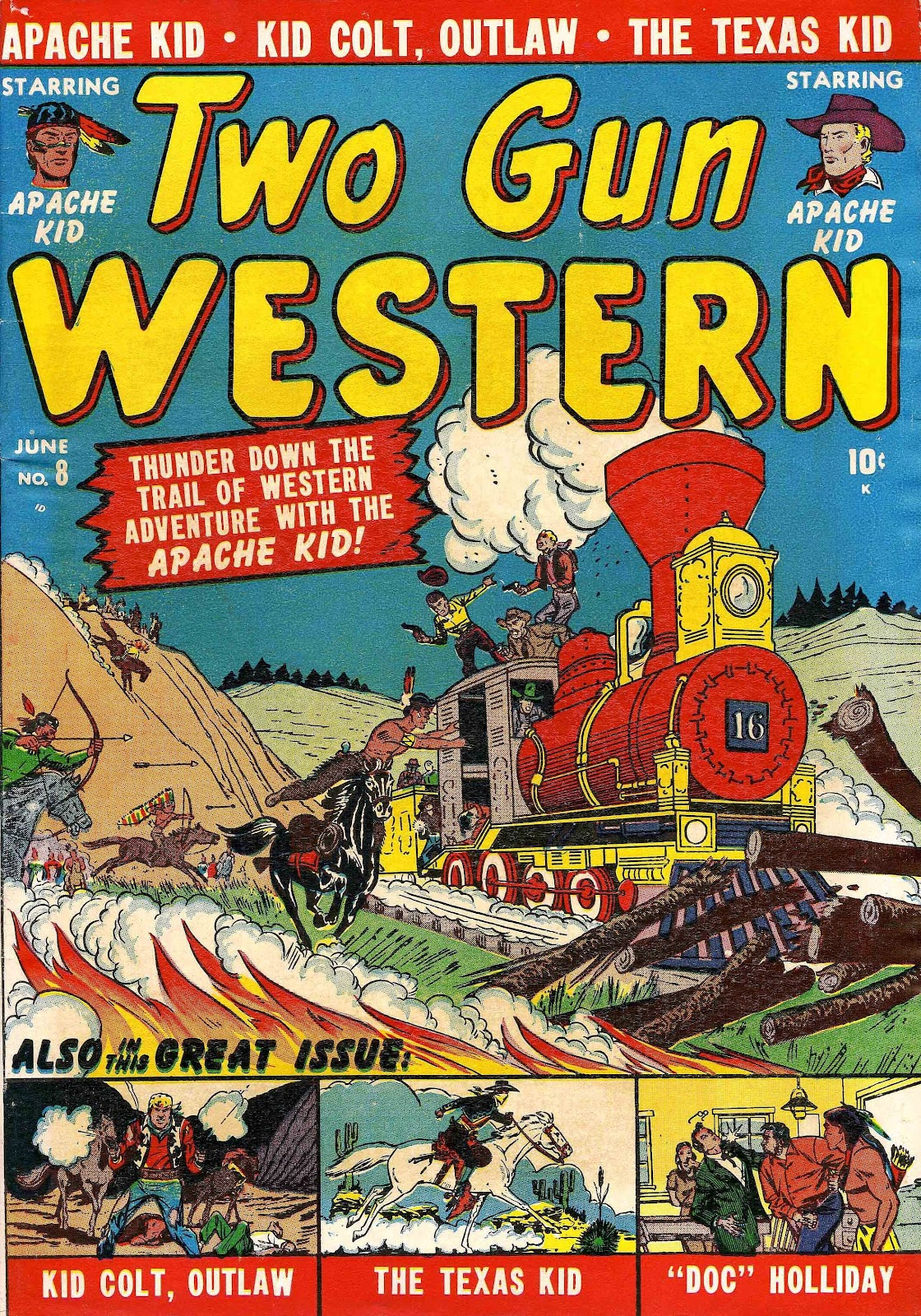 Two Gun Western (1950) issue 8 - Page 1