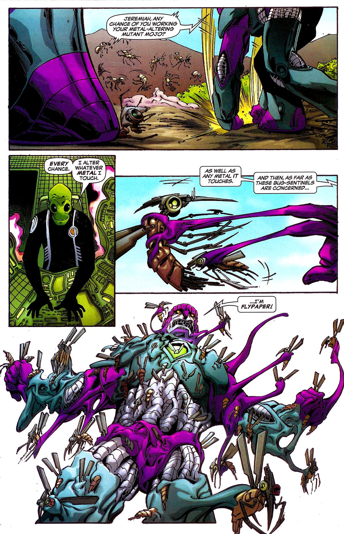 Read online Sentinel Squad O*N*E comic -  Issue #5 - 13