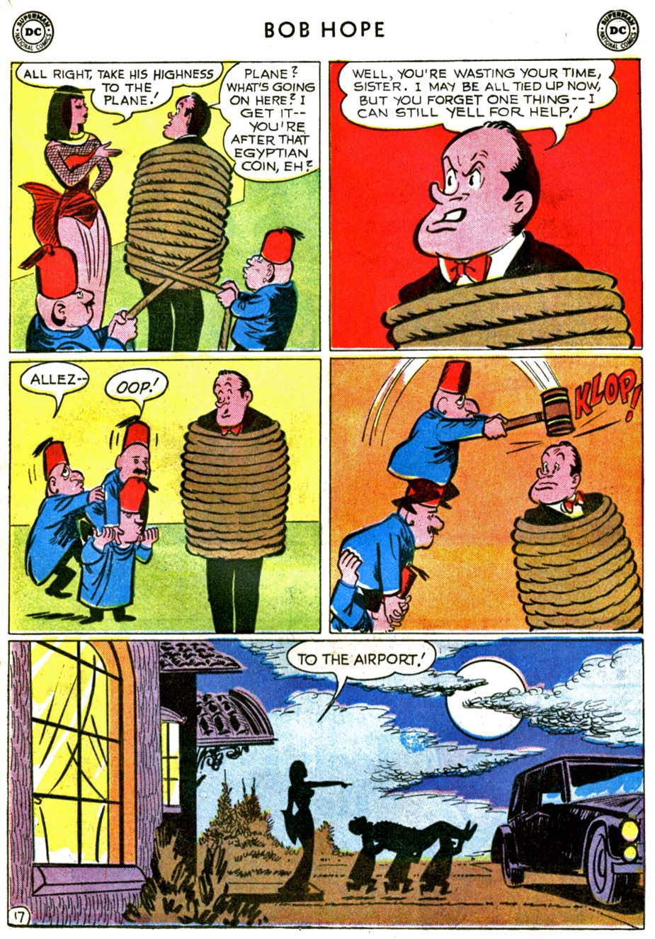 The Adventures of Bob Hope issue 71 - Page 21