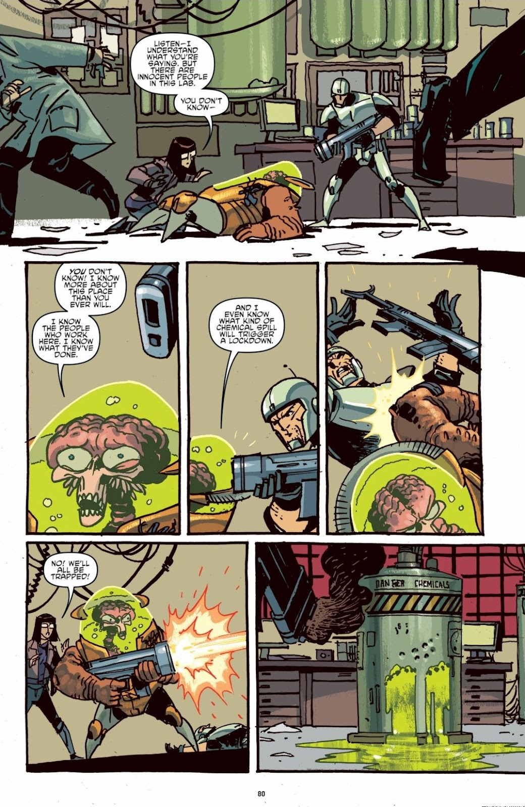Read online Teenage Mutant Ninja Turtles: The IDW Collection comic -  Issue # TPB 6 (Part 1) - 79
