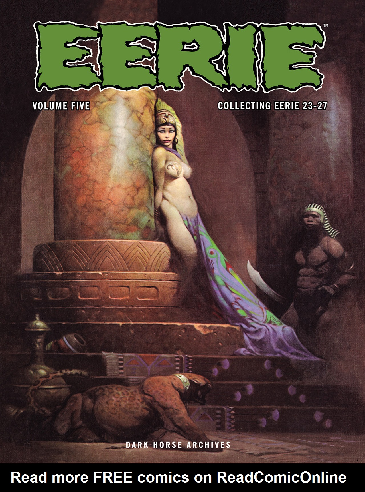 Read online Eerie Archives comic -  Issue # TPB 5 - 1
