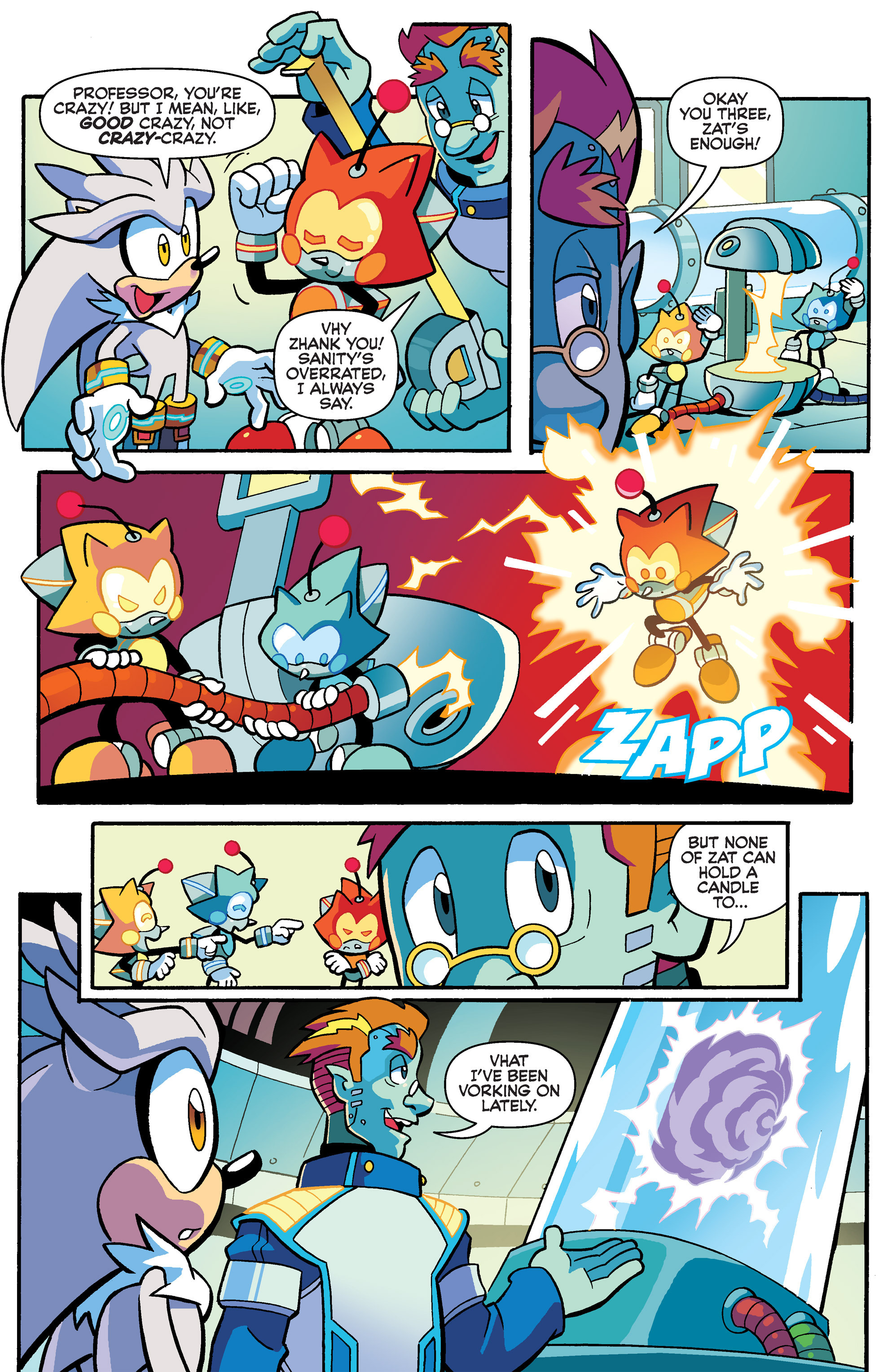 Read online Sonic Universe comic -  Issue #80 - 9