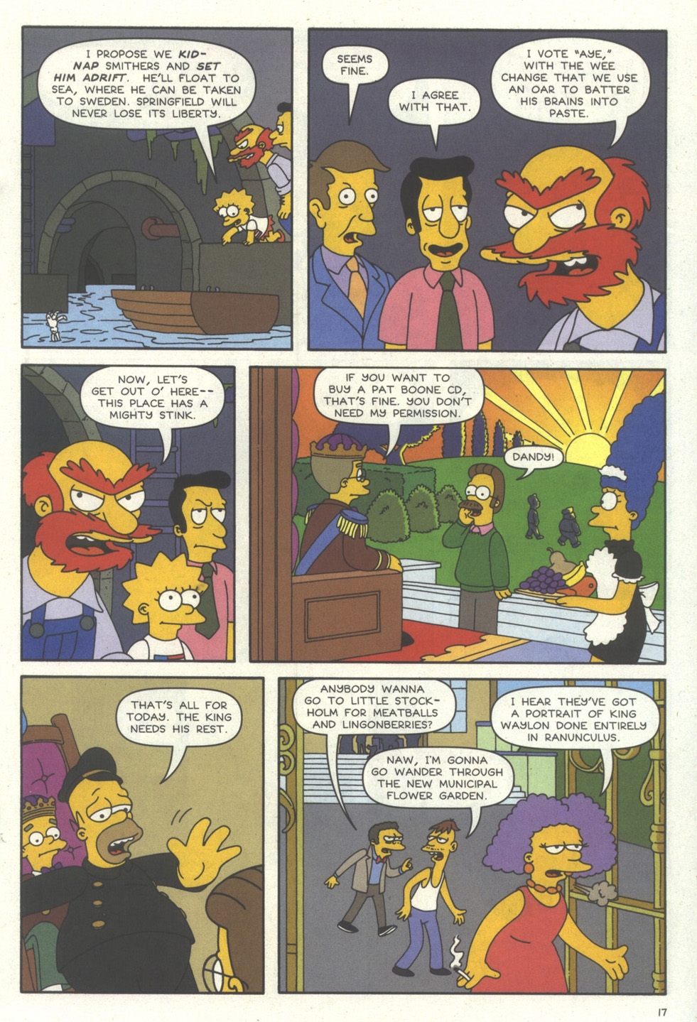 Read online Simpsons Comics comic -  Issue #56 - 18
