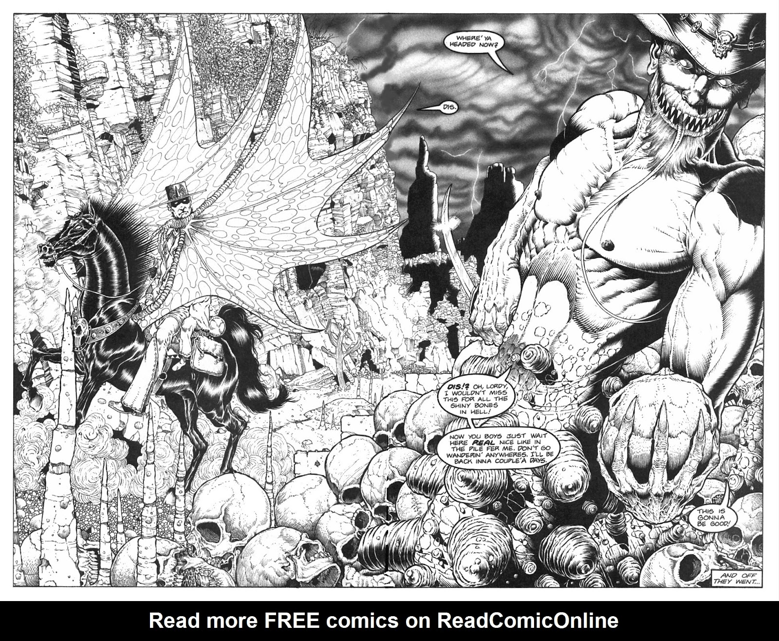 Read online Gunfighters in Hell comic -  Issue #2 - 26