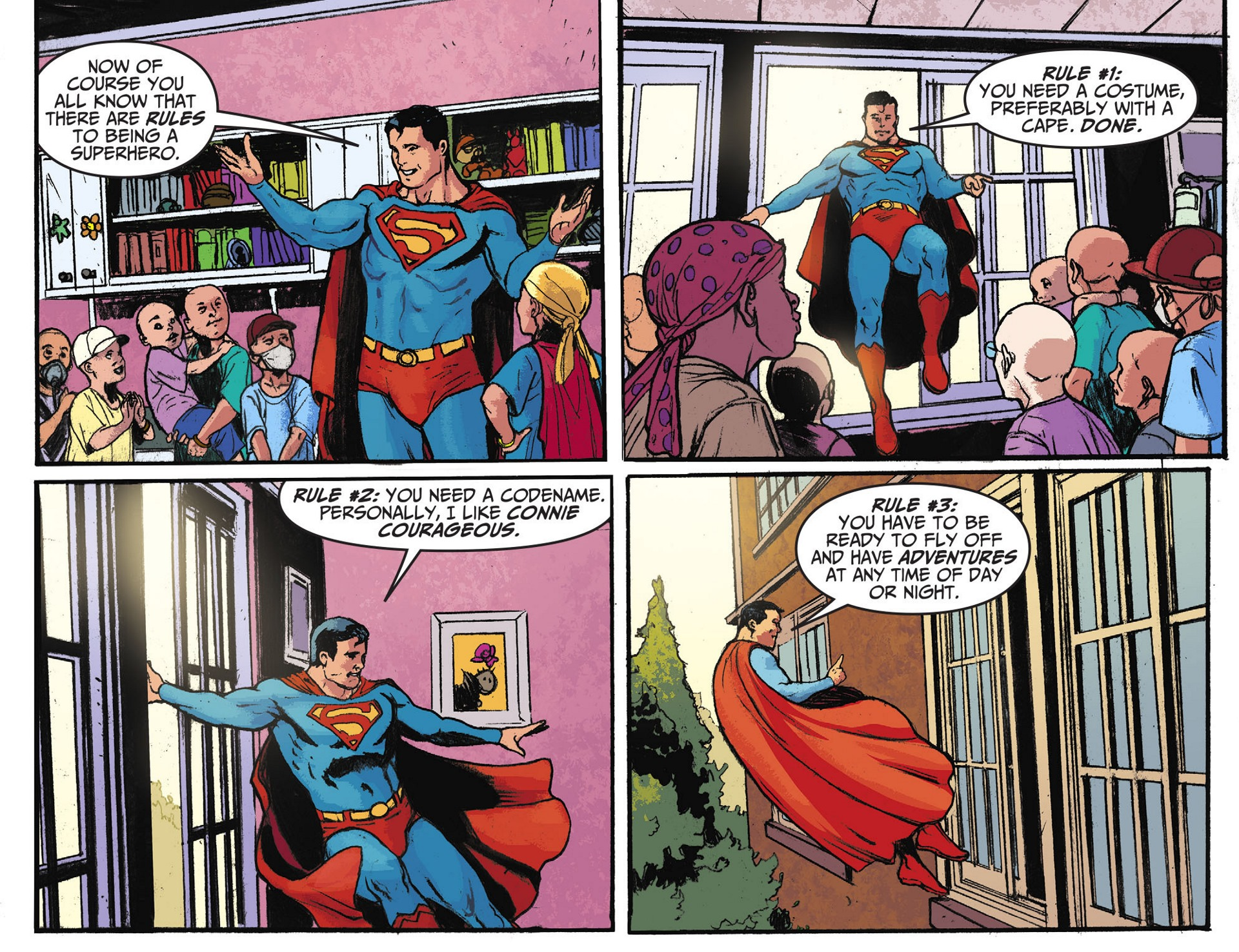 Read online Adventures of Superman [I] comic -  Issue #28 - 21