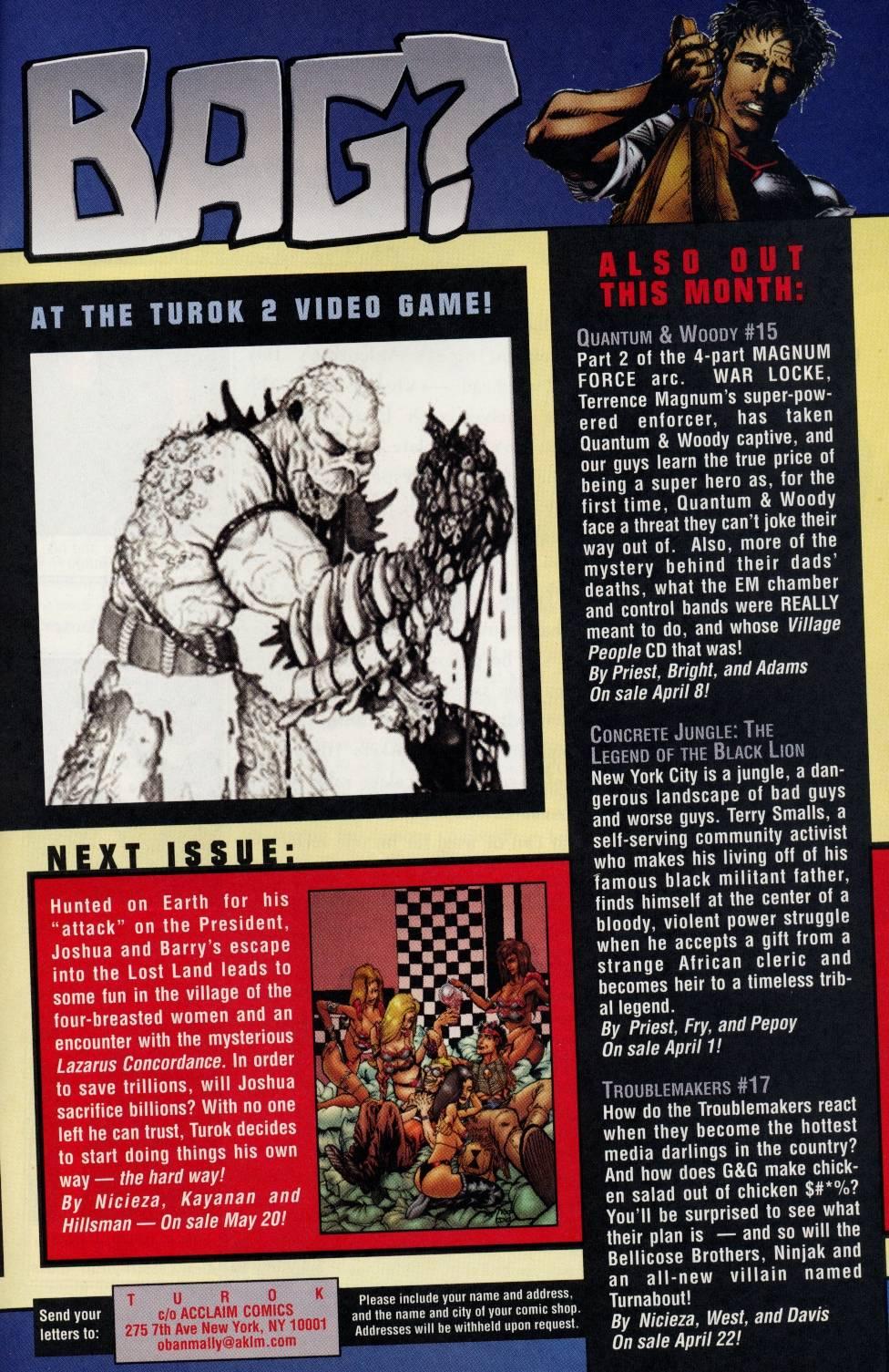 Read online Turok comic -  Issue #2 - 23