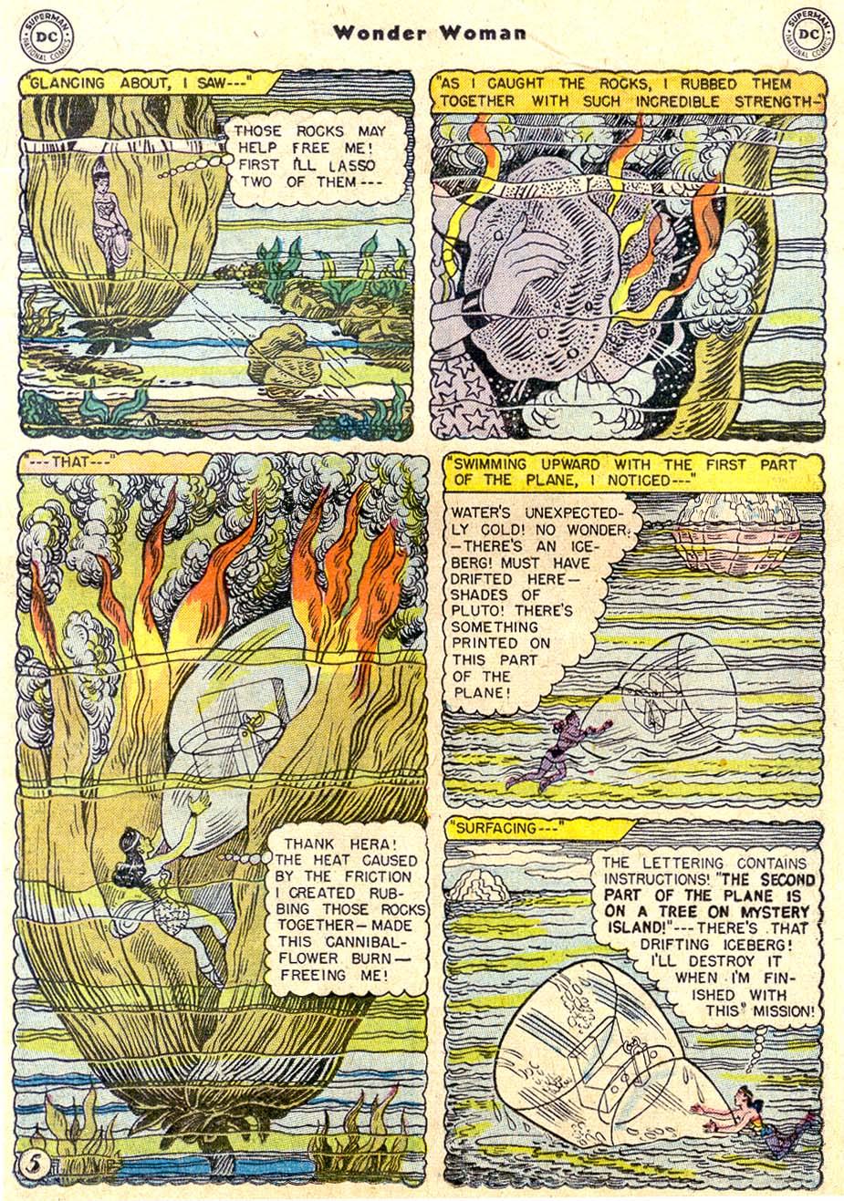 Read online Wonder Woman (1942) comic -  Issue #80 - 17