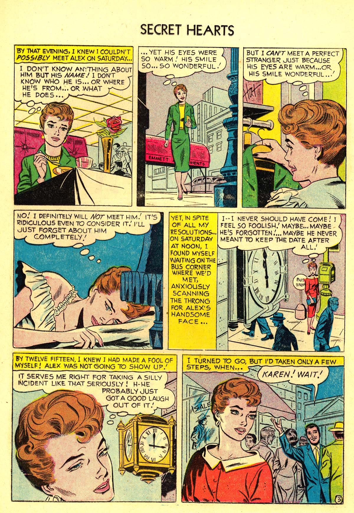 Read online Secret Hearts comic -  Issue #34 - 12