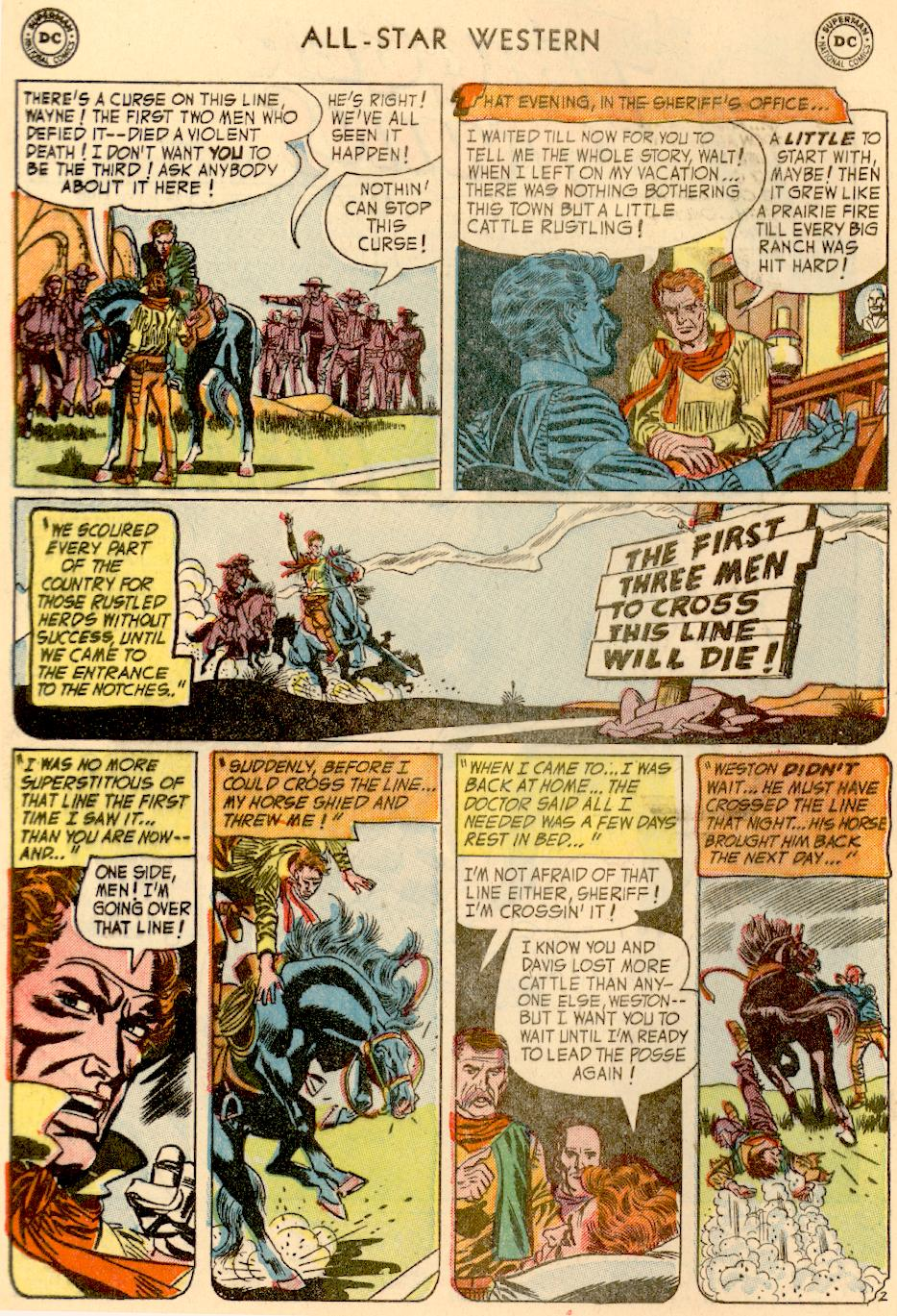 Read online All-Star Western (1951) comic -  Issue #73 - 4