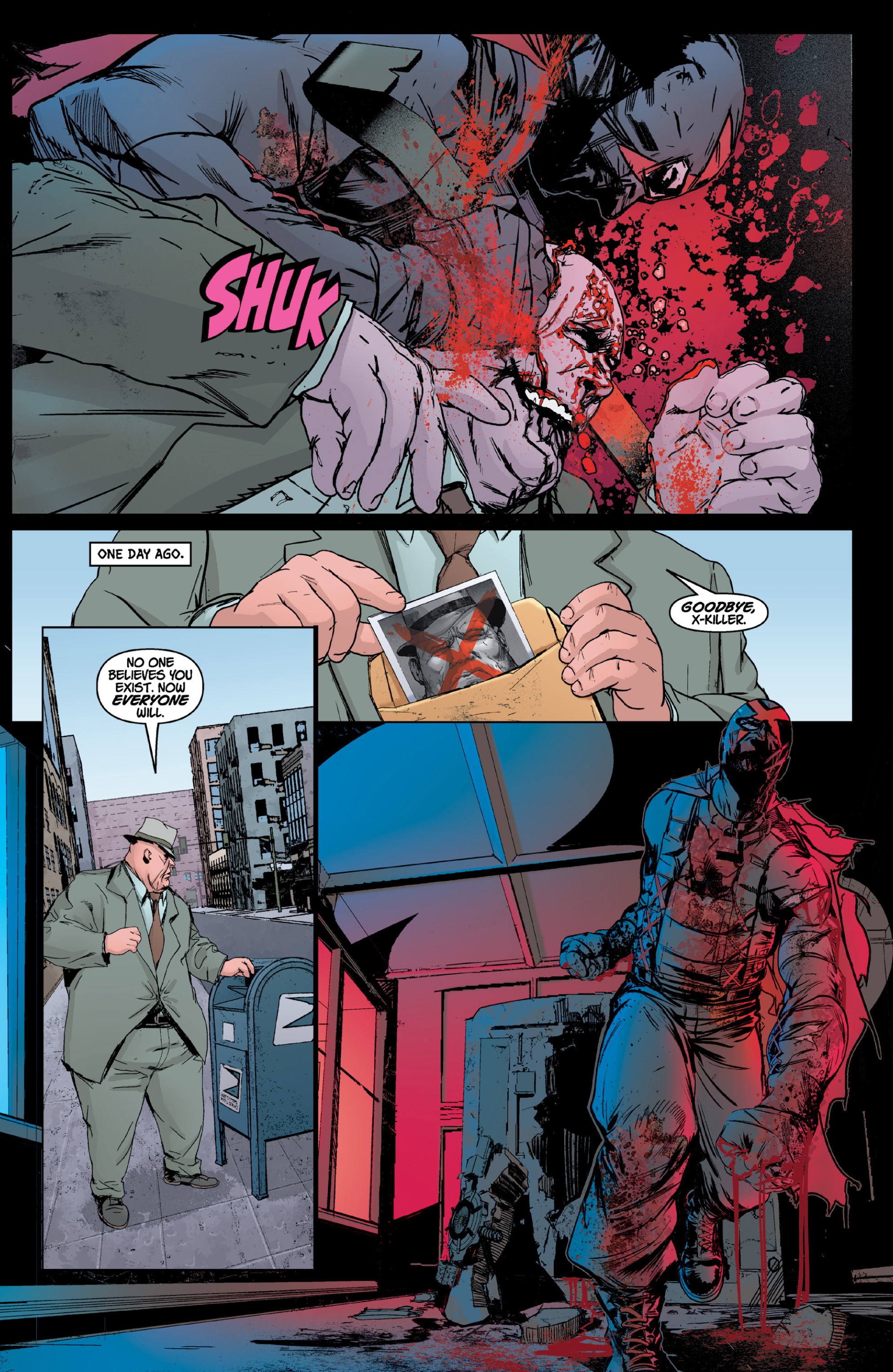 Read online X: Big Bad comic -  Issue # Full - 31