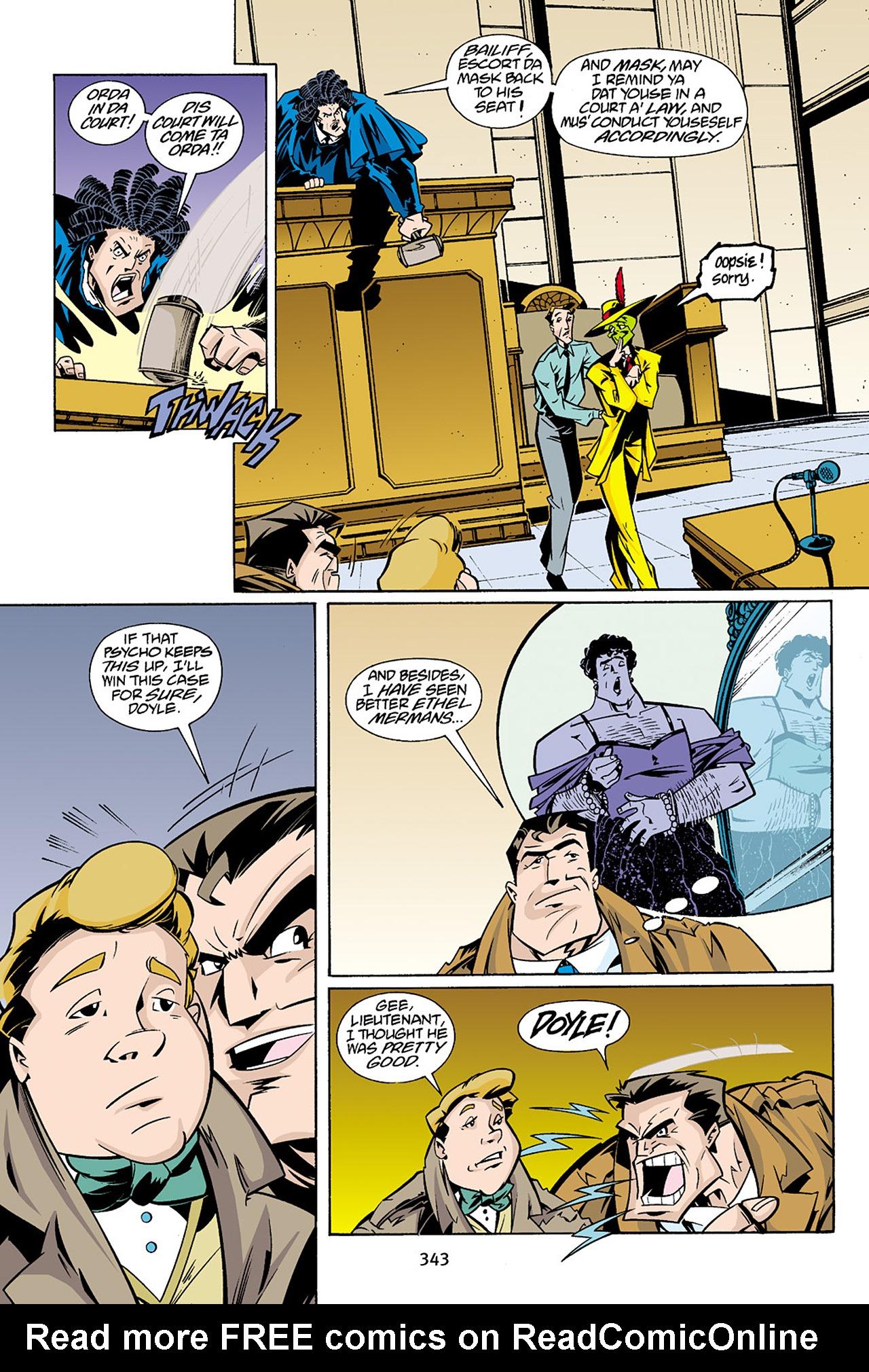 Read online Adventures Of The Mask Omnibus comic -  Issue #Adventures Of The Mask Omnibus Full - 342