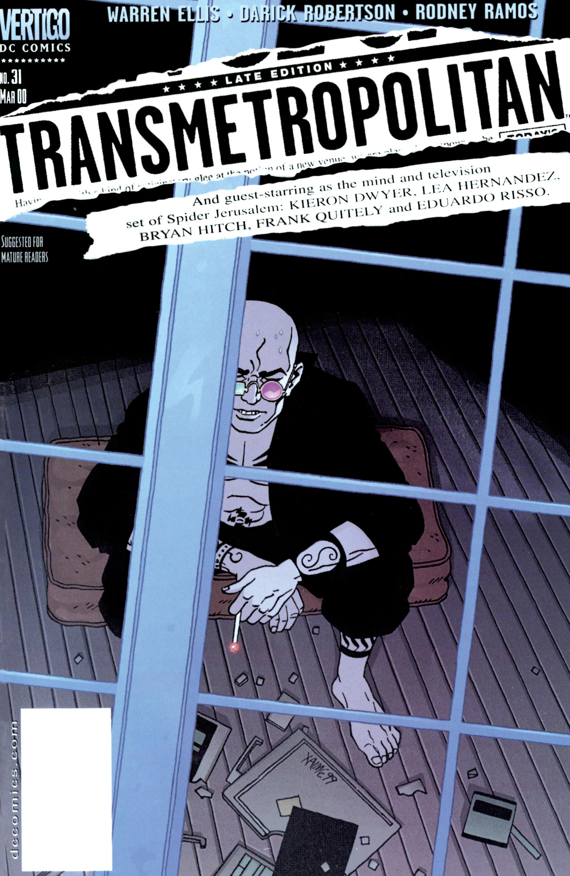 Read online Transmetropolitan comic -  Issue #31 - 1